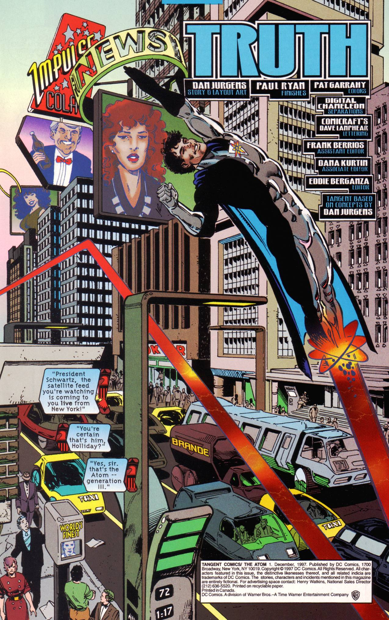 Read online Tangent Comics/ The Atom comic -  Issue # Full - 2