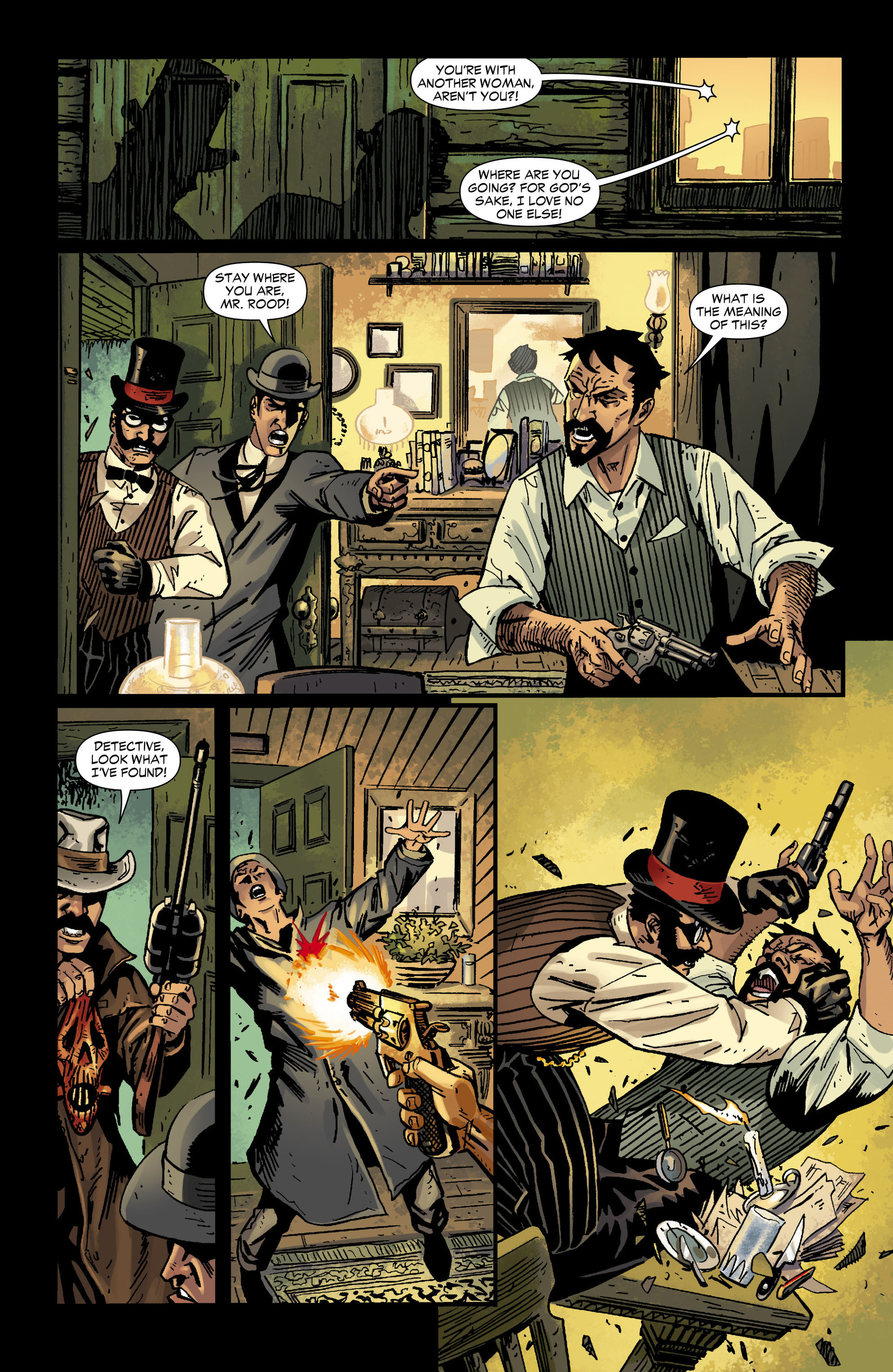 Read online All-Star Western (2011) comic -  Issue #12 - 25