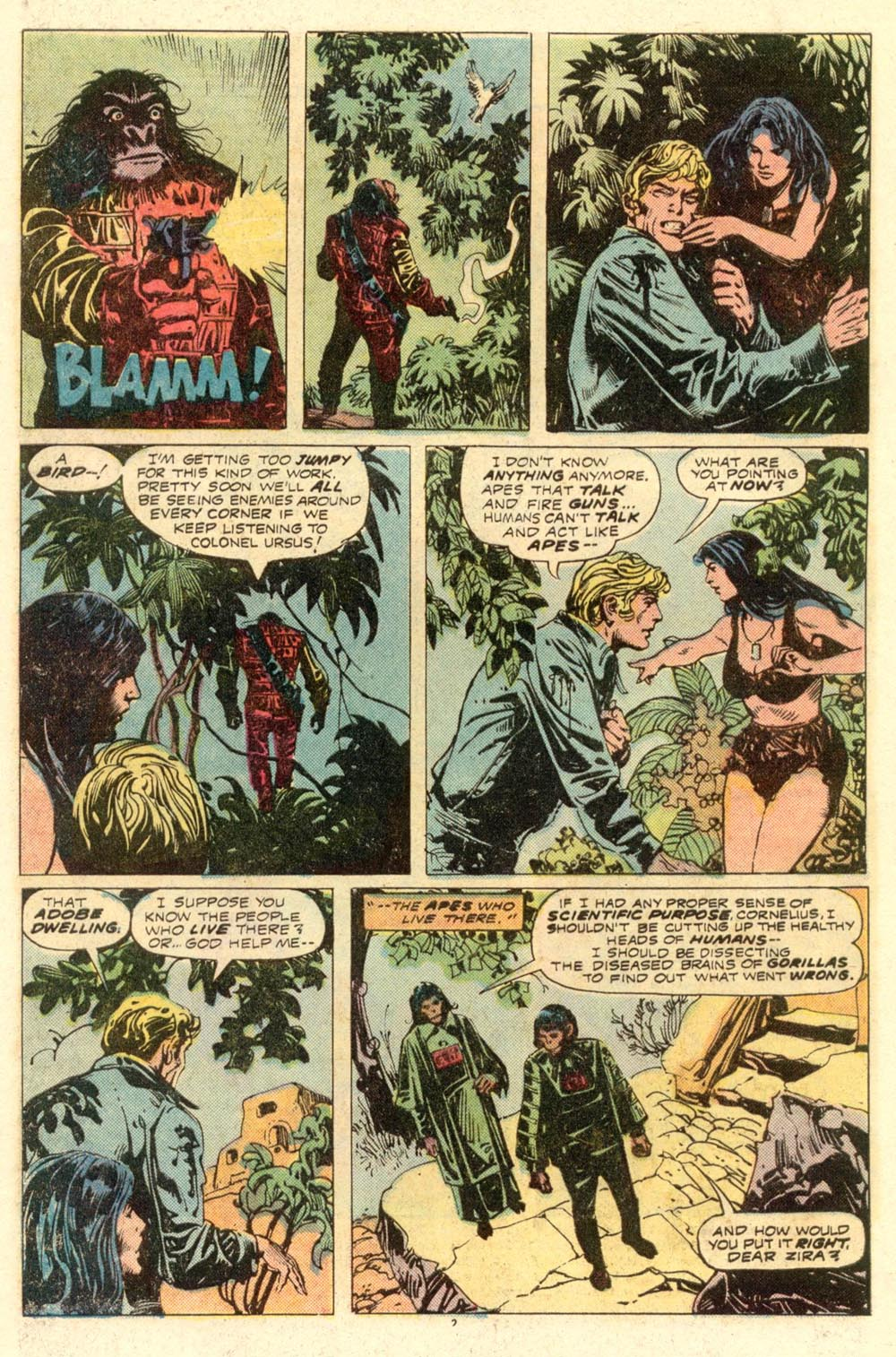 Read online Adventures on the Planet of the Apes comic -  Issue #8 - 3