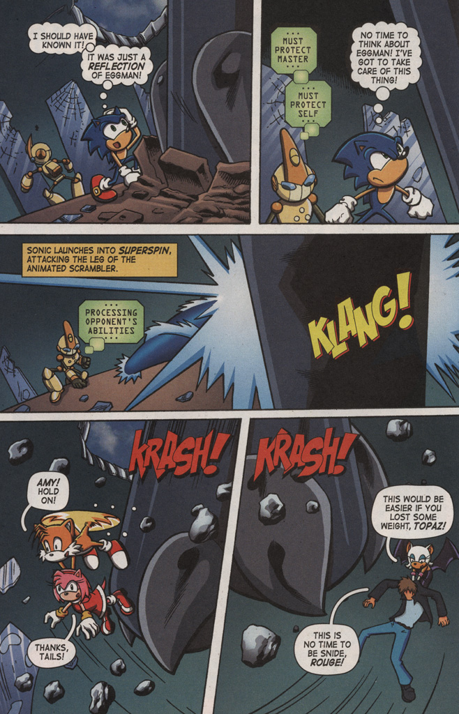 Read online Sonic X comic -  Issue #9 - 6