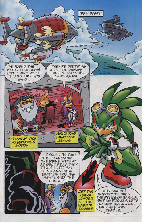 Read online Sonic Universe comic -  Issue #20 - 21