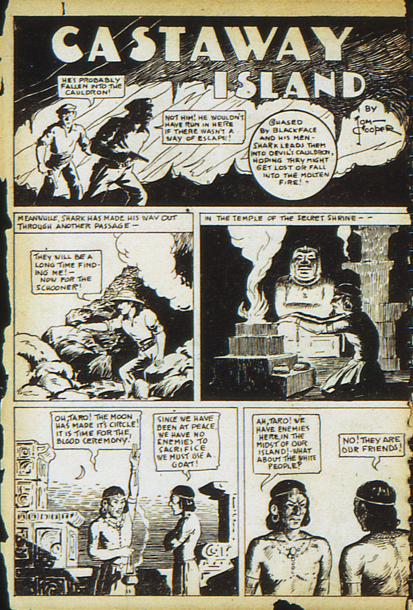 Read online Adventure Comics (1938) comic -  Issue #13 - 36