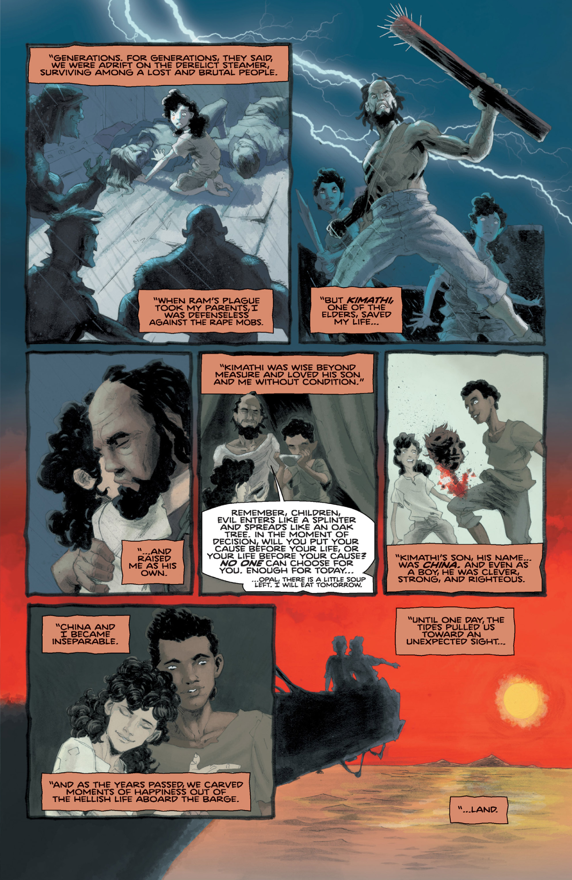 Read online Orchid comic -  Issue # TPB 1 - 68