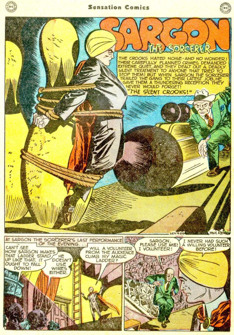 Read online Sensation (Mystery) Comics comic -  Issue #77 - 25