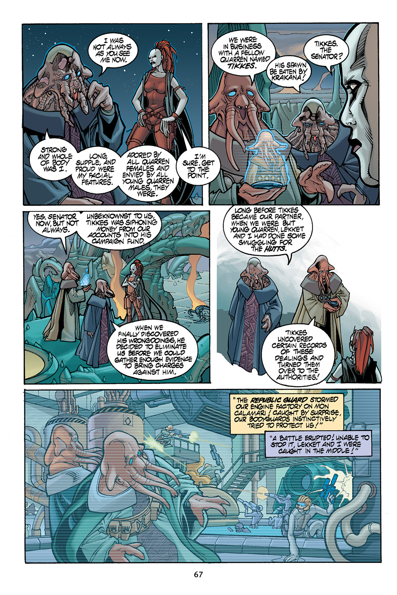 Read online Star Wars Omnibus comic -  Issue # Vol. 10 - 66
