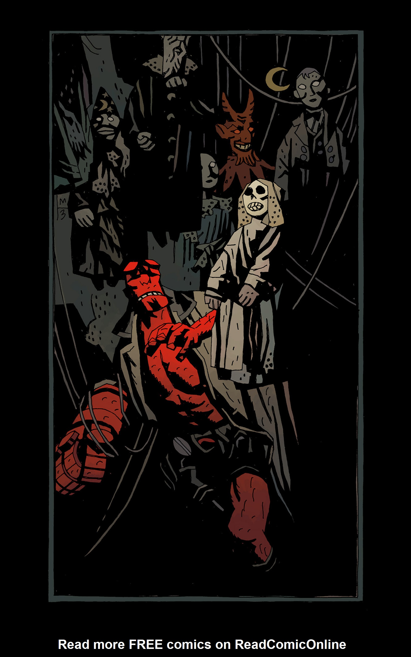 Read online Hellboy: The Troll Witch and Others comic -  Issue # TPB - 3