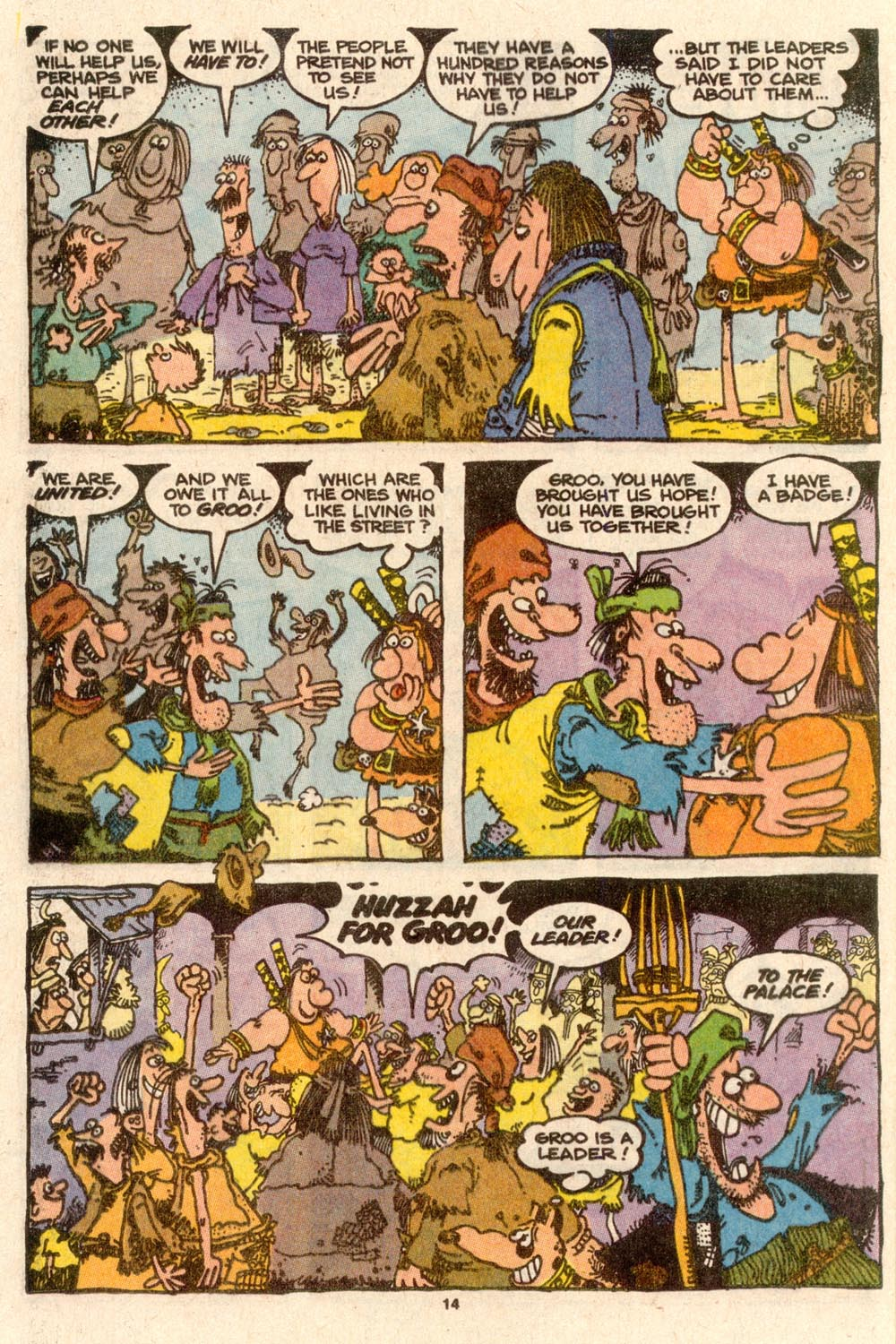 Read online Sergio Aragonés Groo the Wanderer comic -  Issue #60 - 14