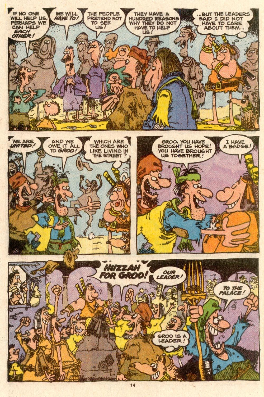 Read online Sergio Aragonés Groo the Wanderer comic -  Issue #60 - 14