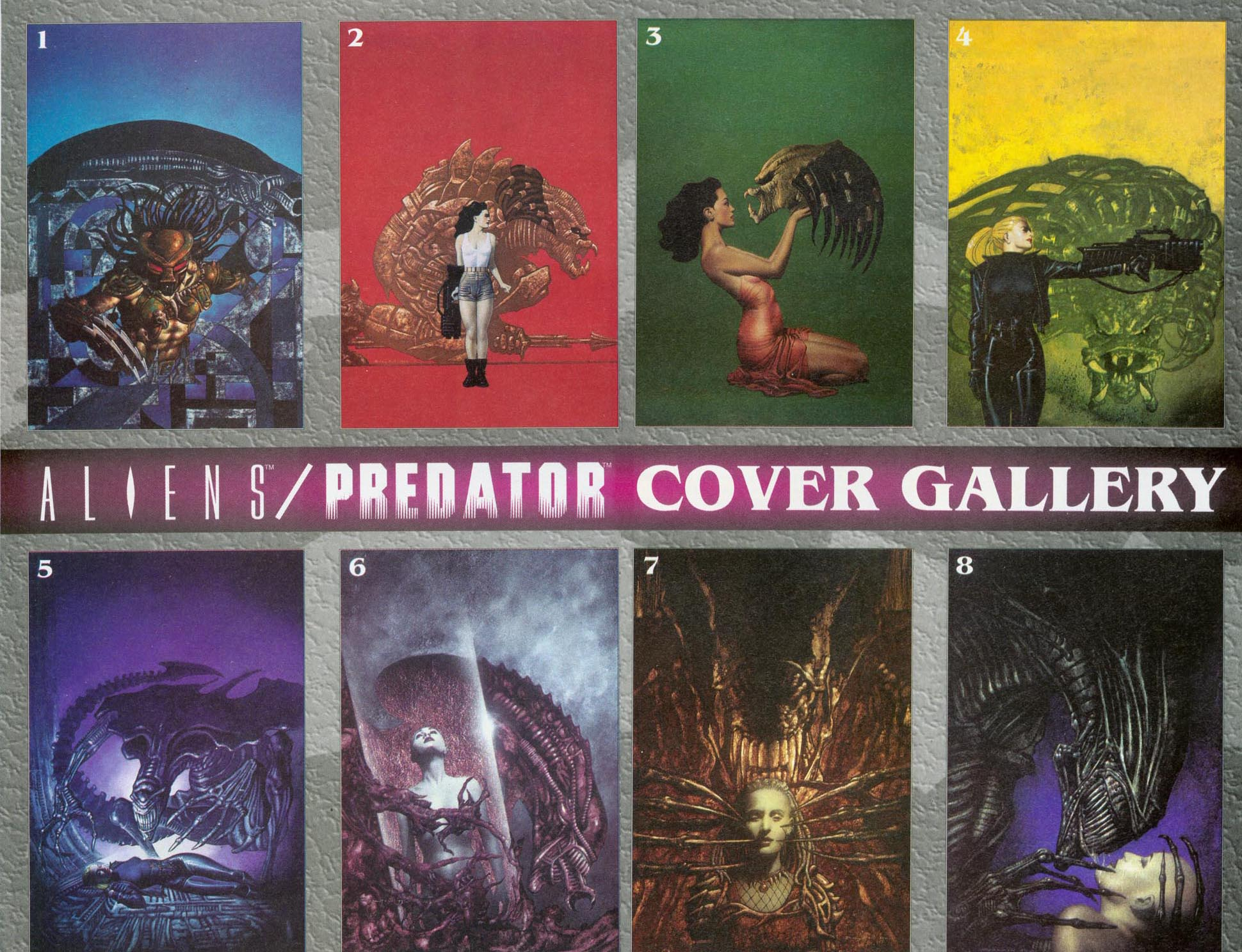 Read online Aliens/Predator: The Deadliest of the Species comic -  Issue #7 - 28