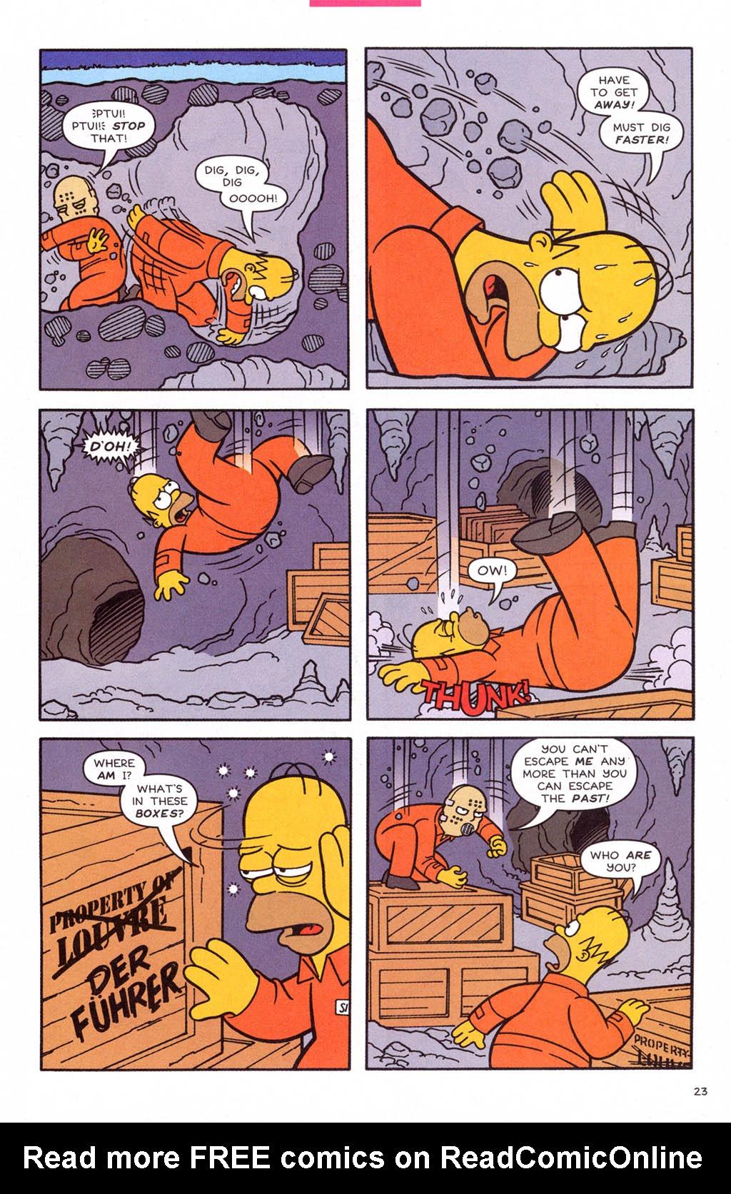 Read online Simpsons Comics comic -  Issue #108 - 24