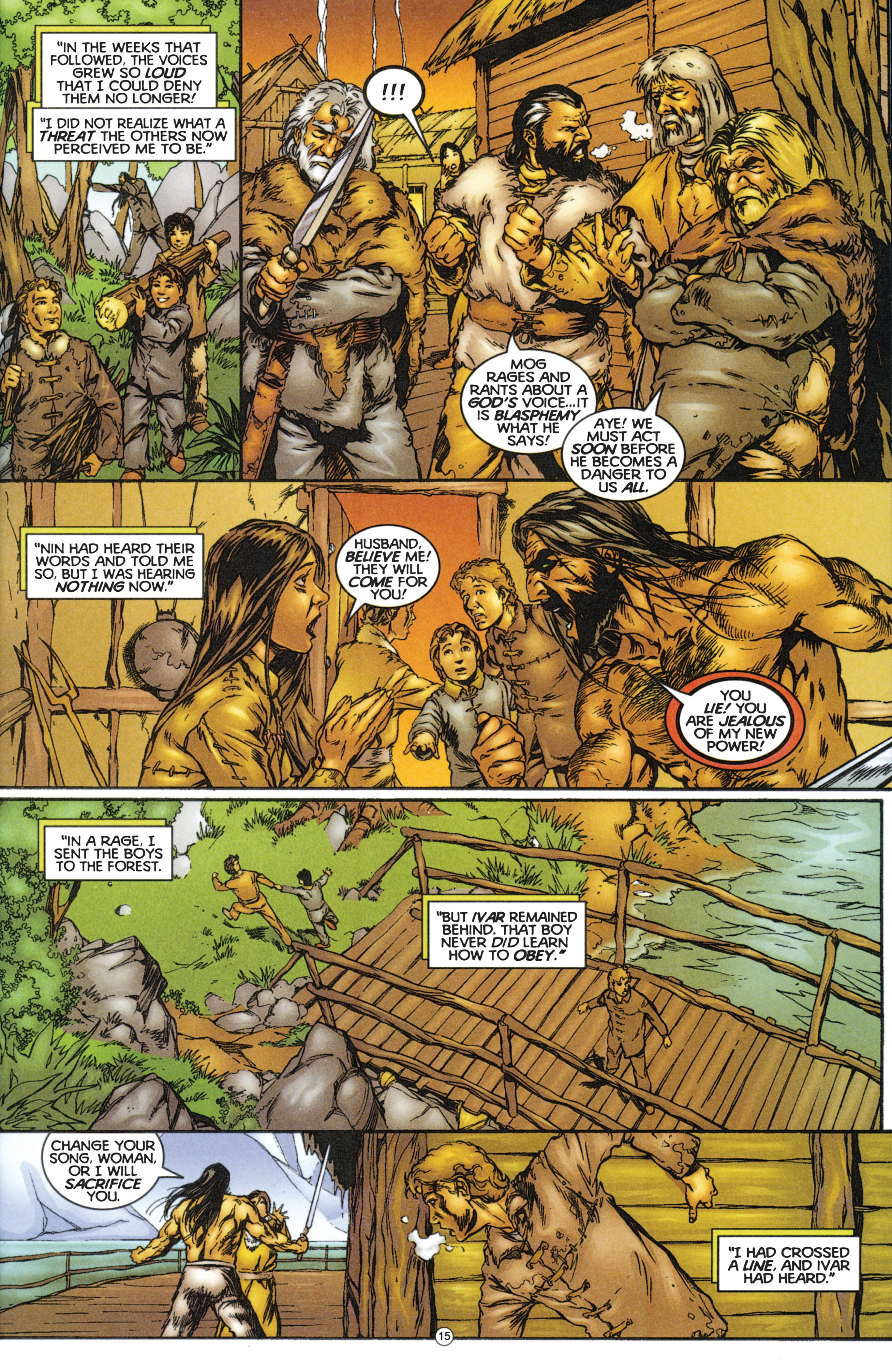 Read online Eternal Warriors comic -  Issue # Issue The Immortal Enemy - 15