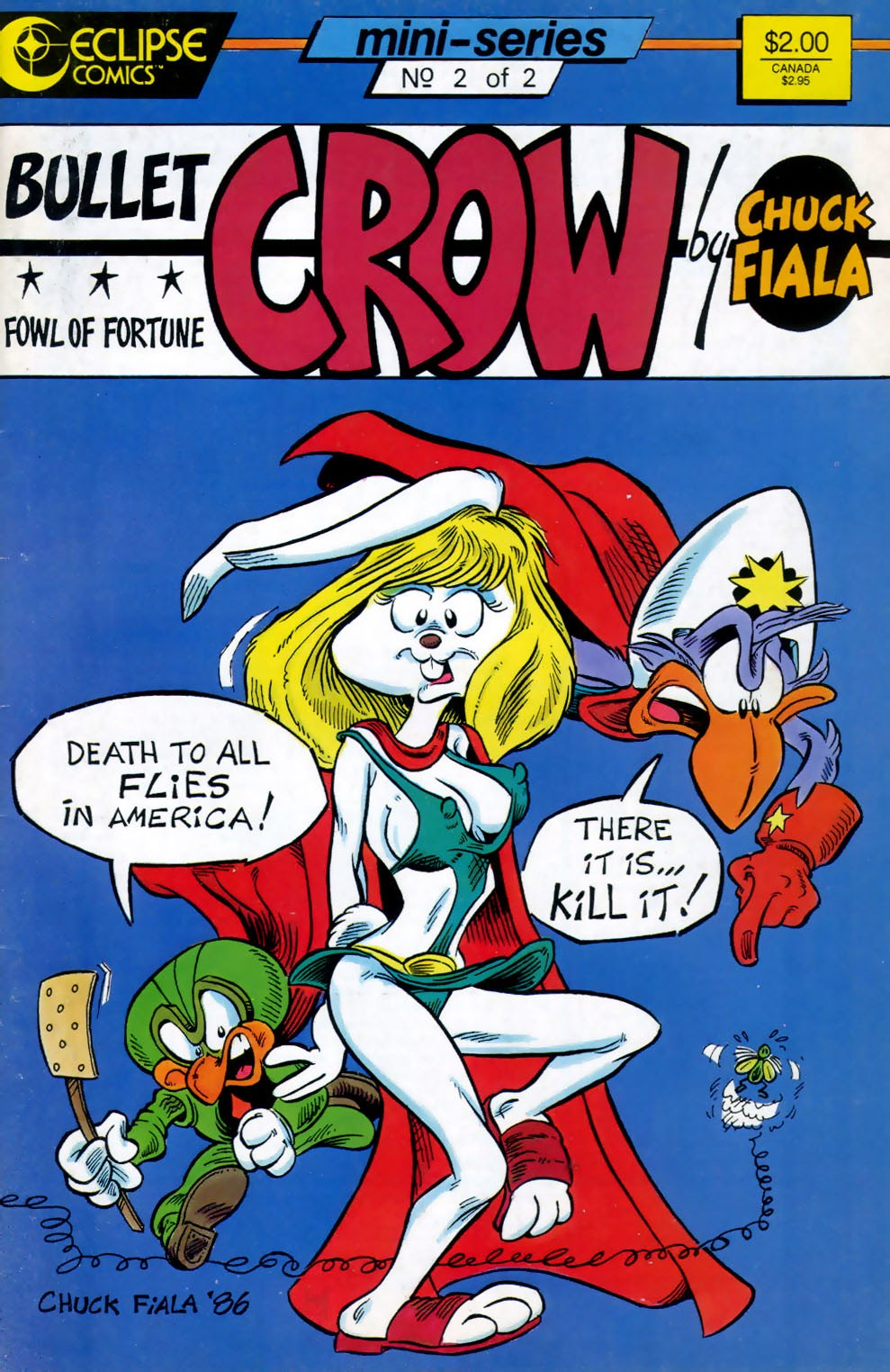 Read online Bullet Crow, Fowl of Fortune comic -  Issue #2 - 1