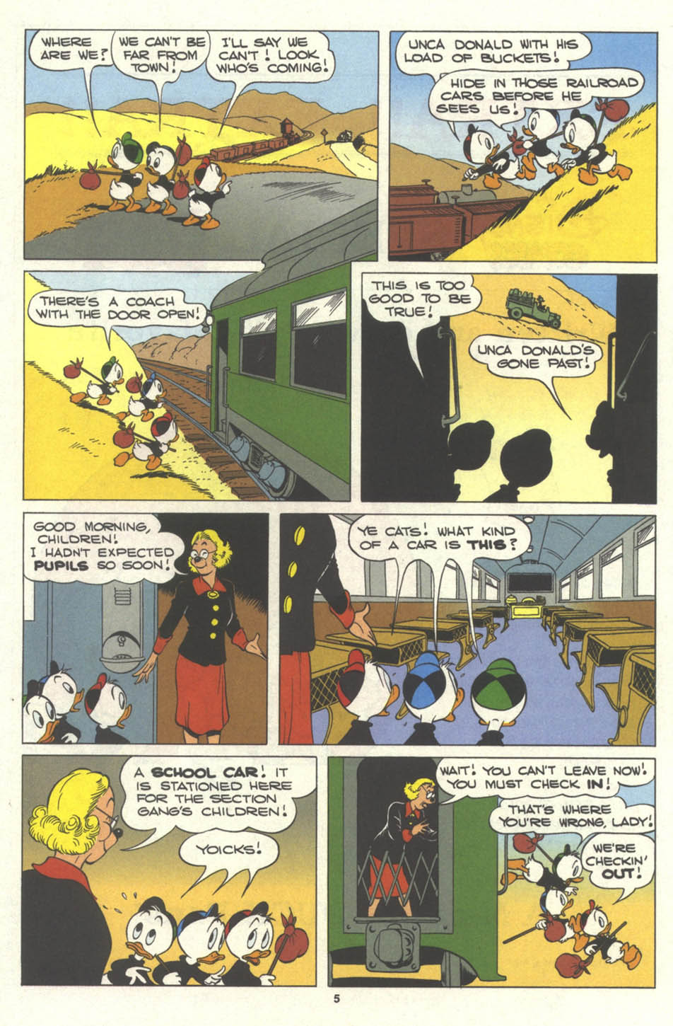 Walt Disney's Comics and Stories issue 577 - Page 7