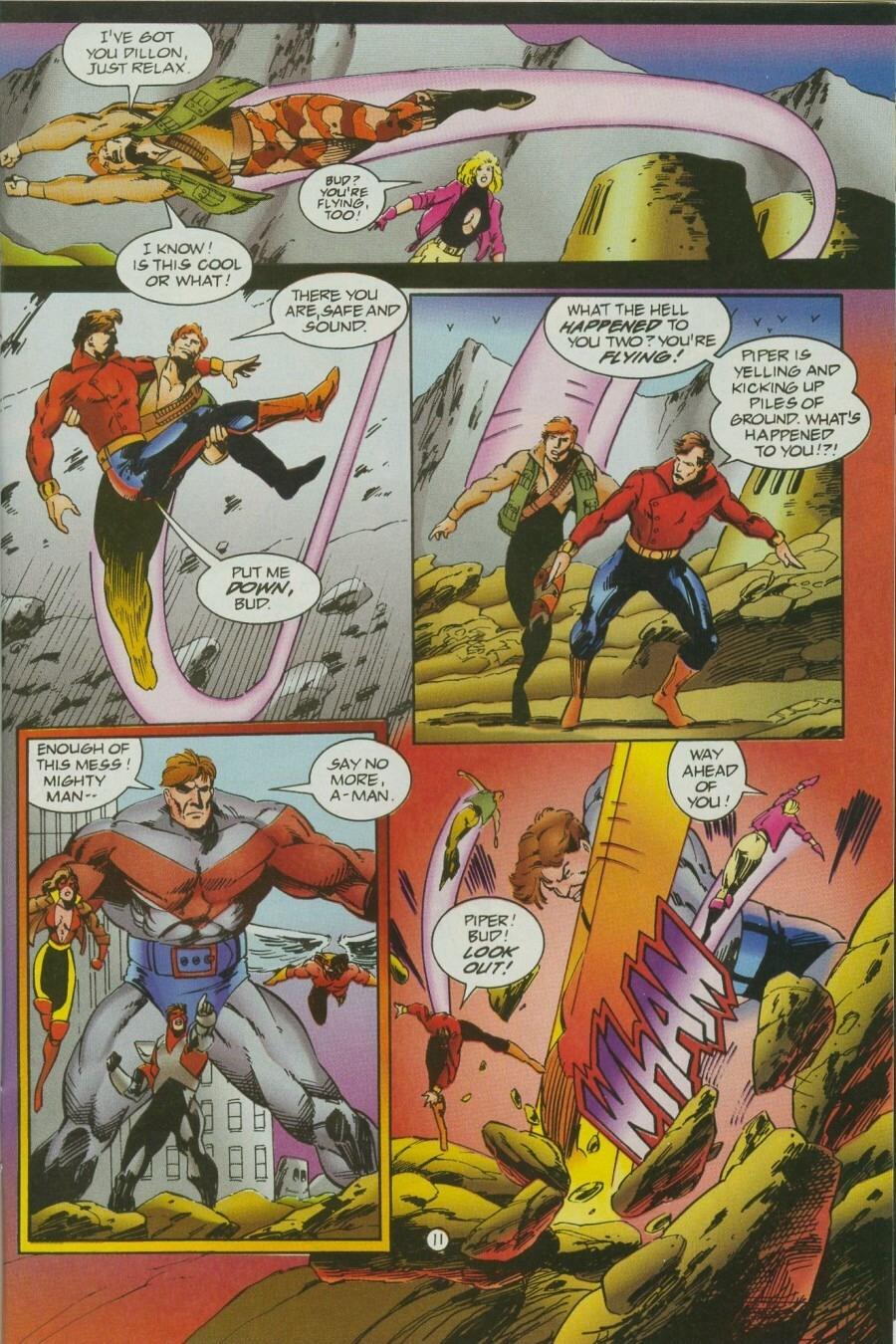 Read online Ex-Mutants comic -  Issue #12 - 14