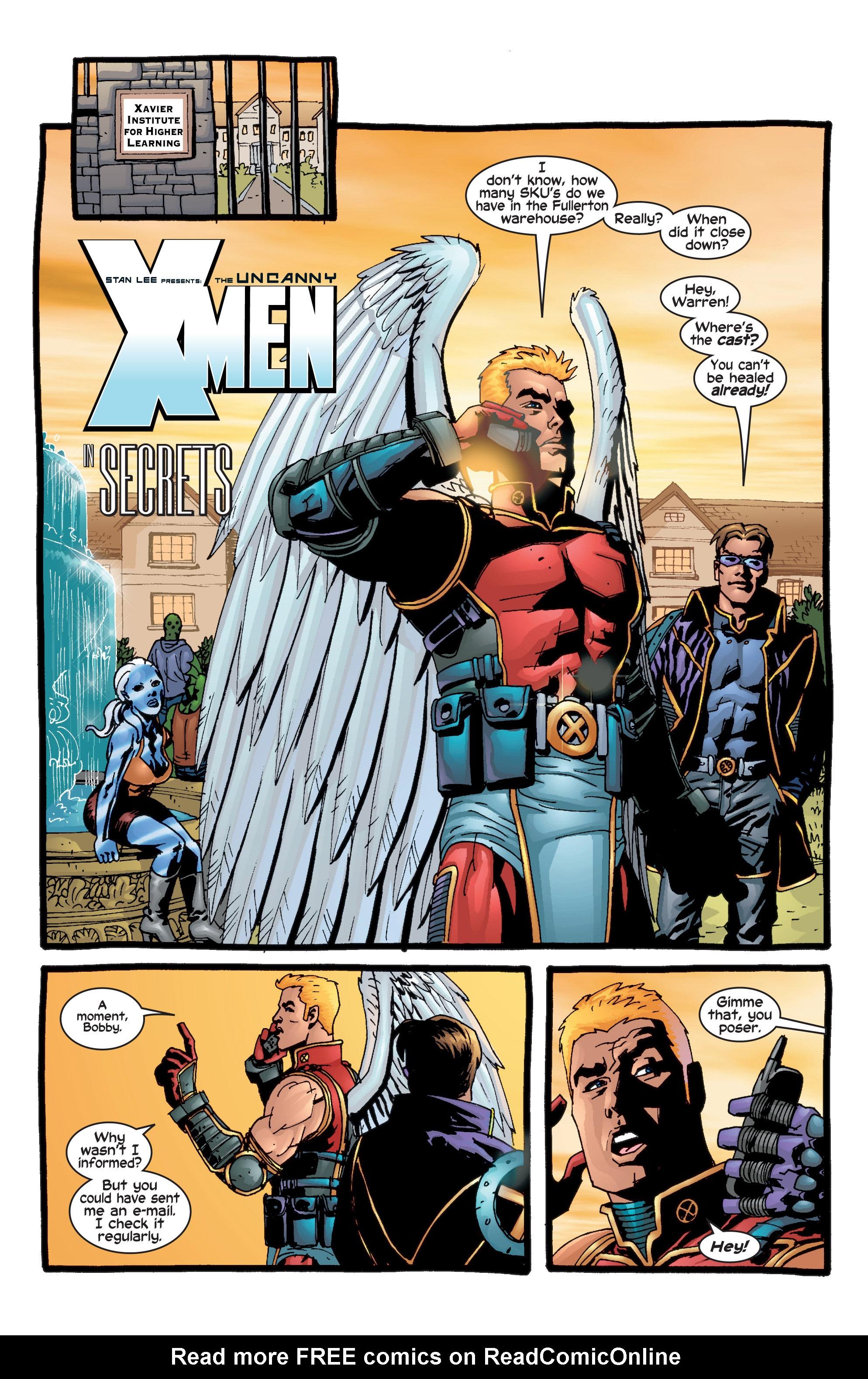 Read online Uncanny X-Men (1963) comic -  Issue #415 - 2