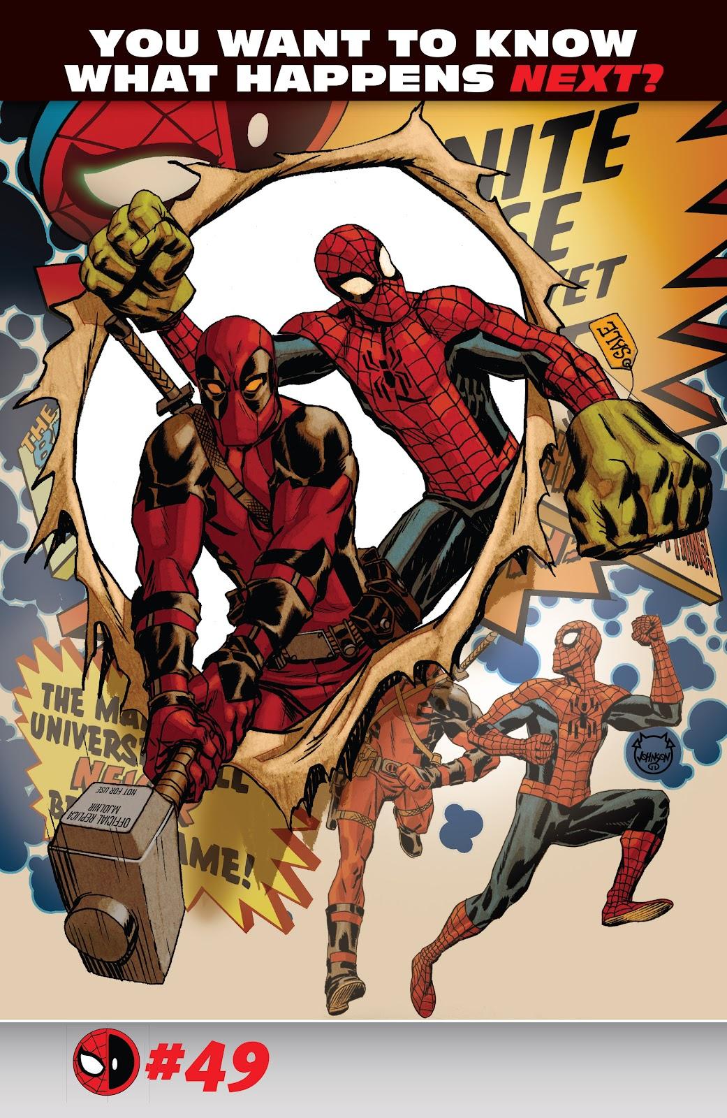 Read online Spider-Man/Deadpool comic -  Issue #48 - 23