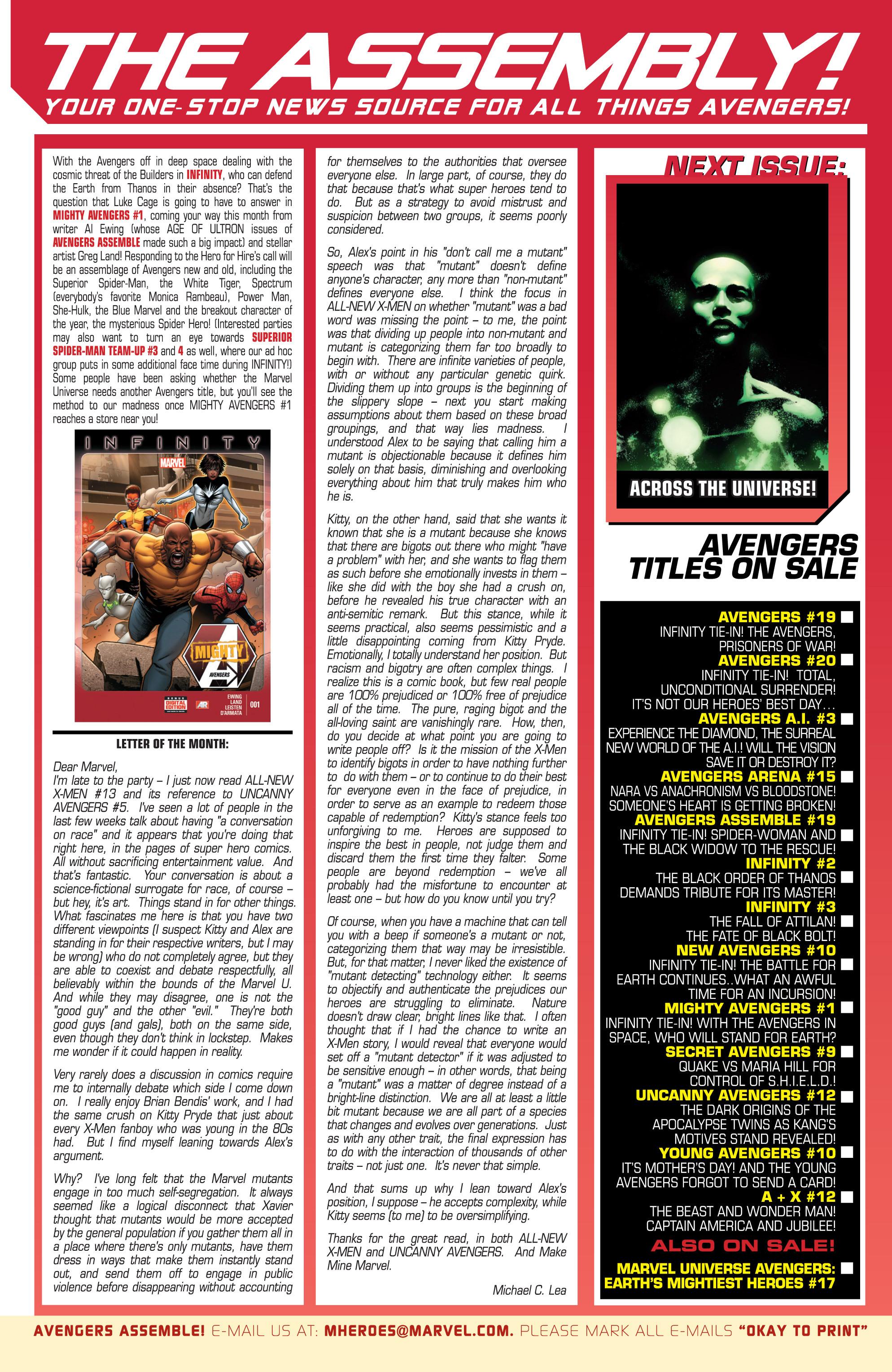 Read online Avengers (2013) comic -  Issue #Avengers (2013) _TPB 4 - 92