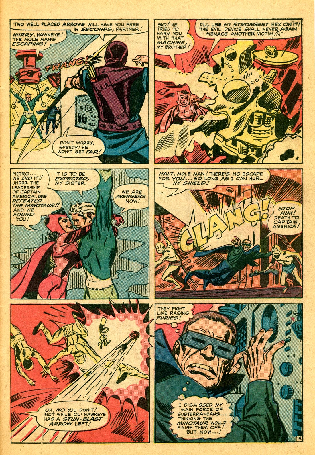 The Avengers (1963) 17 Page 19