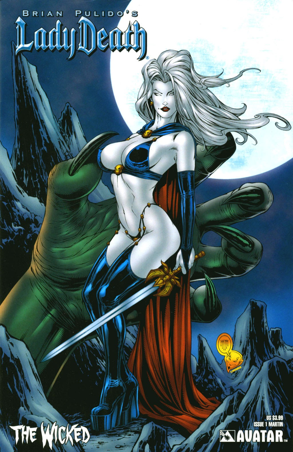 Read online Lady Death: The Wicked comic -  Issue #1 - 7