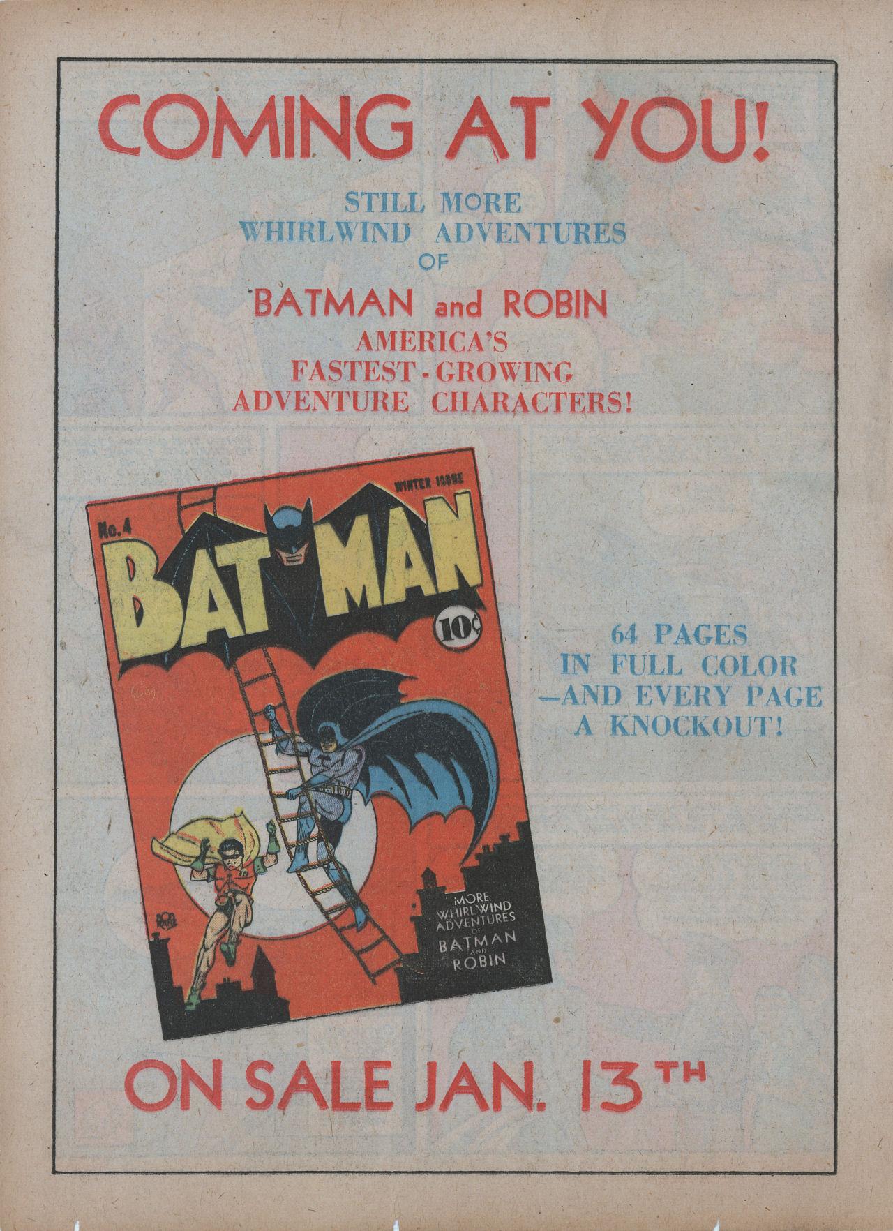 Read online Detective Comics (1937) comic -  Issue #48 - 16