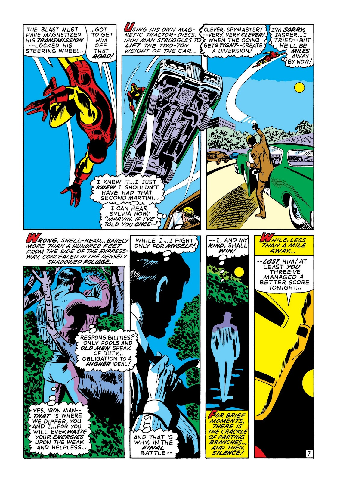 Read online Marvel Masterworks: The Invincible Iron Man comic -  Issue # TPB 7 (Part 3) - 36