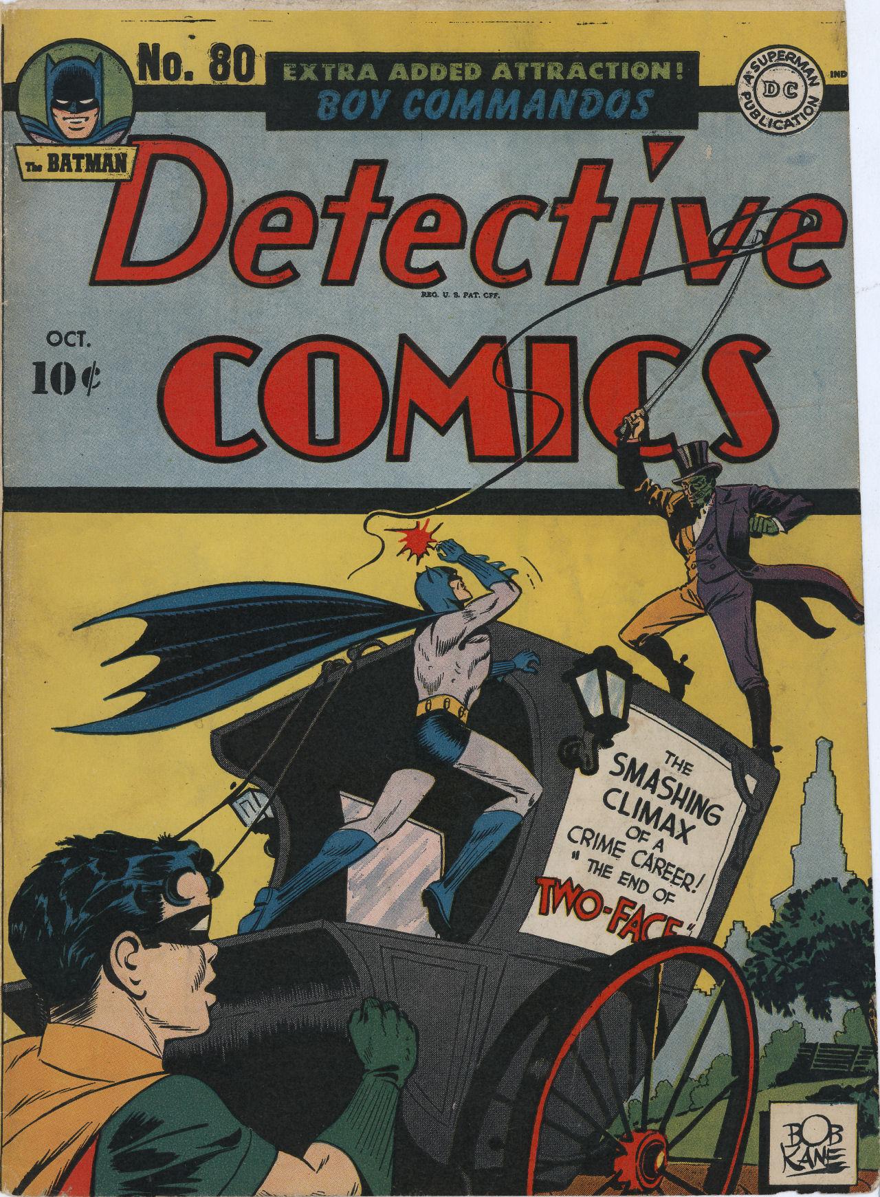 Detective Comics (1937) 80 Page 1