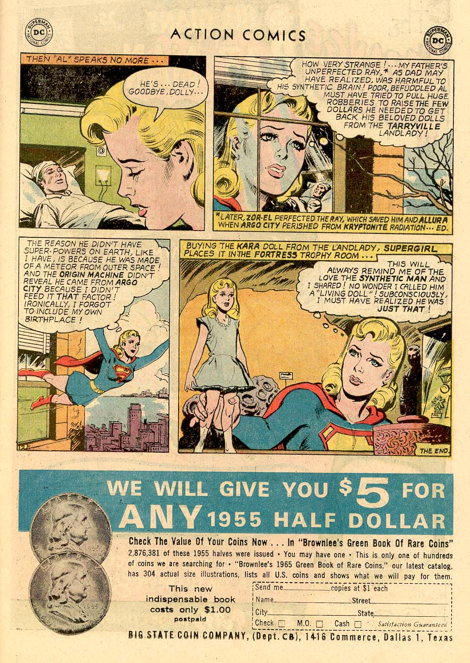 Read online Action Comics (1938) comic -  Issue #326 - 31