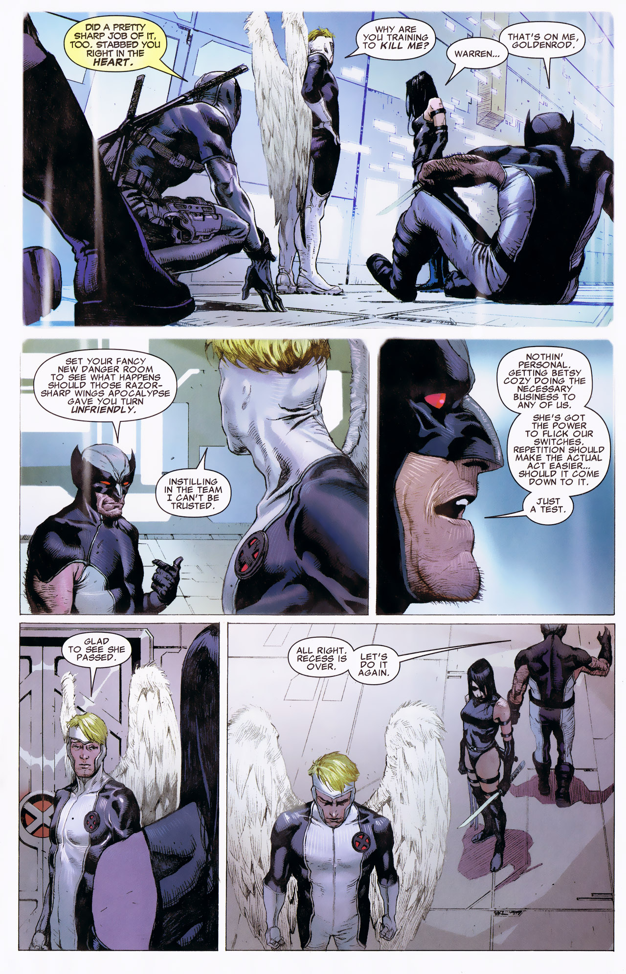 Read online Uncanny X-Force: The Apocalypse Solution comic -  Issue # Full - 33