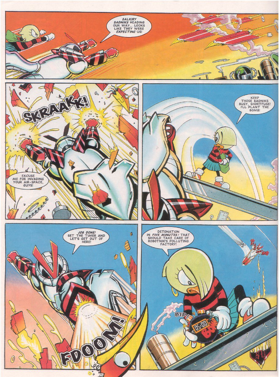 Read online Sonic the Comic comic -  Issue #64 - 27