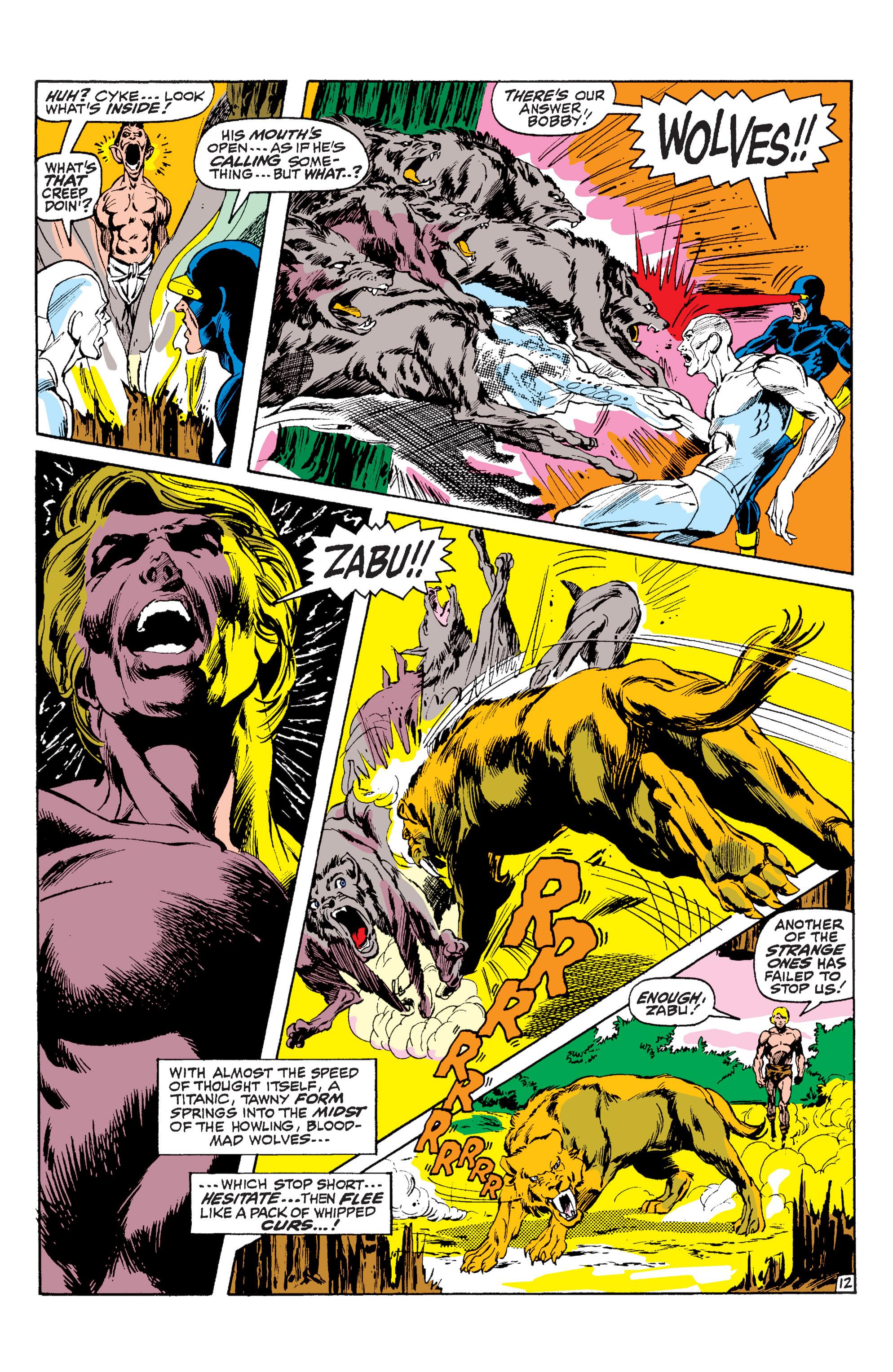 Read online Uncanny X-Men (1963) comic -  Issue #63 - 13