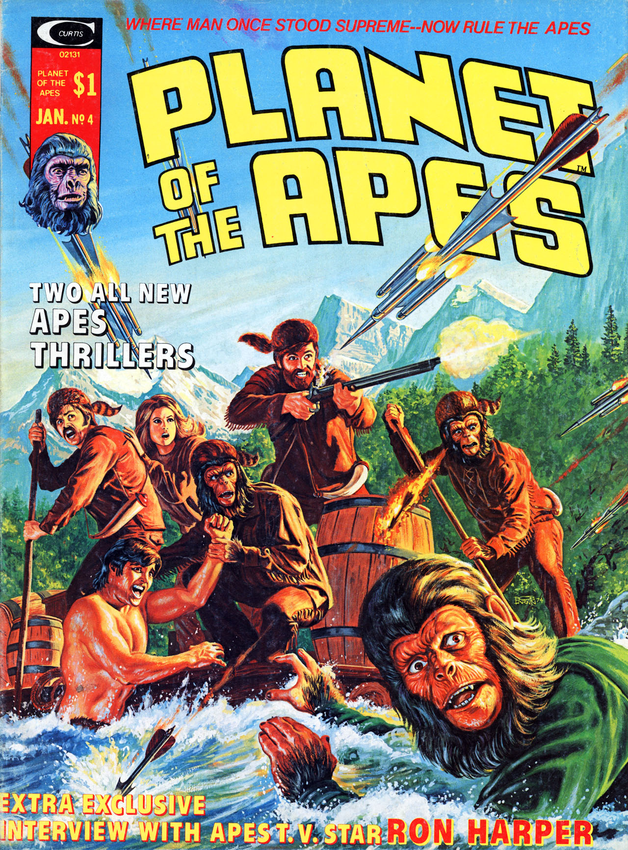Planet of the Apes (1974) 4 Page 1