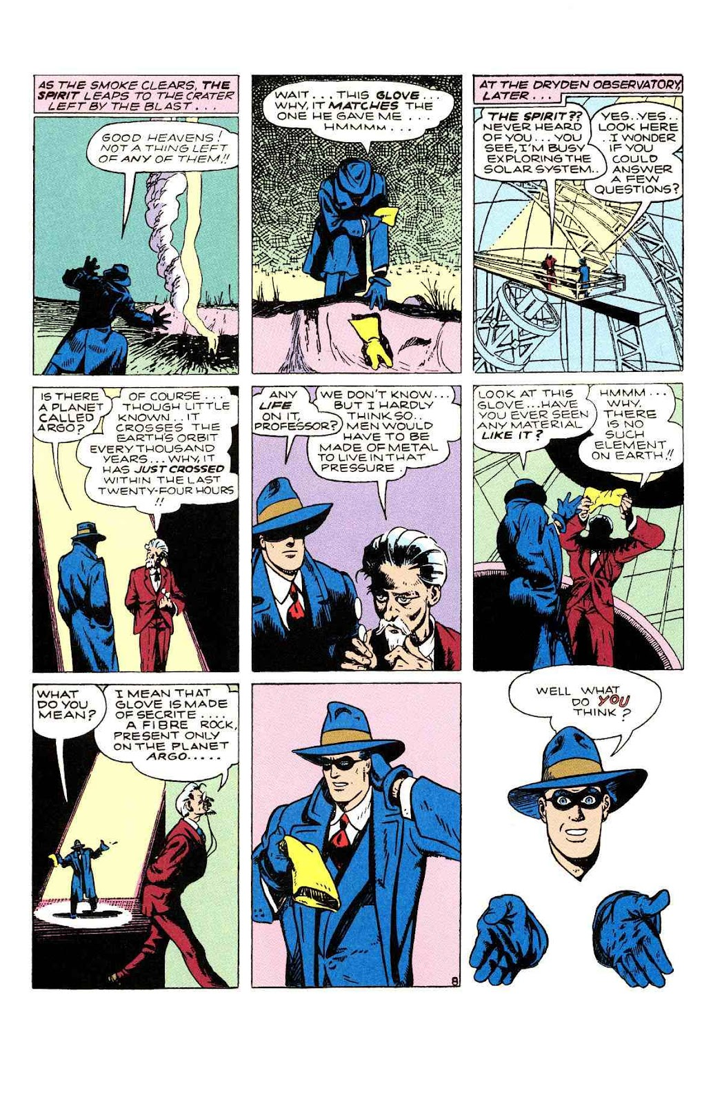 Read online Will Eisner's The Spirit Archives comic -  Issue # TPB 2 (Part 1) - 64