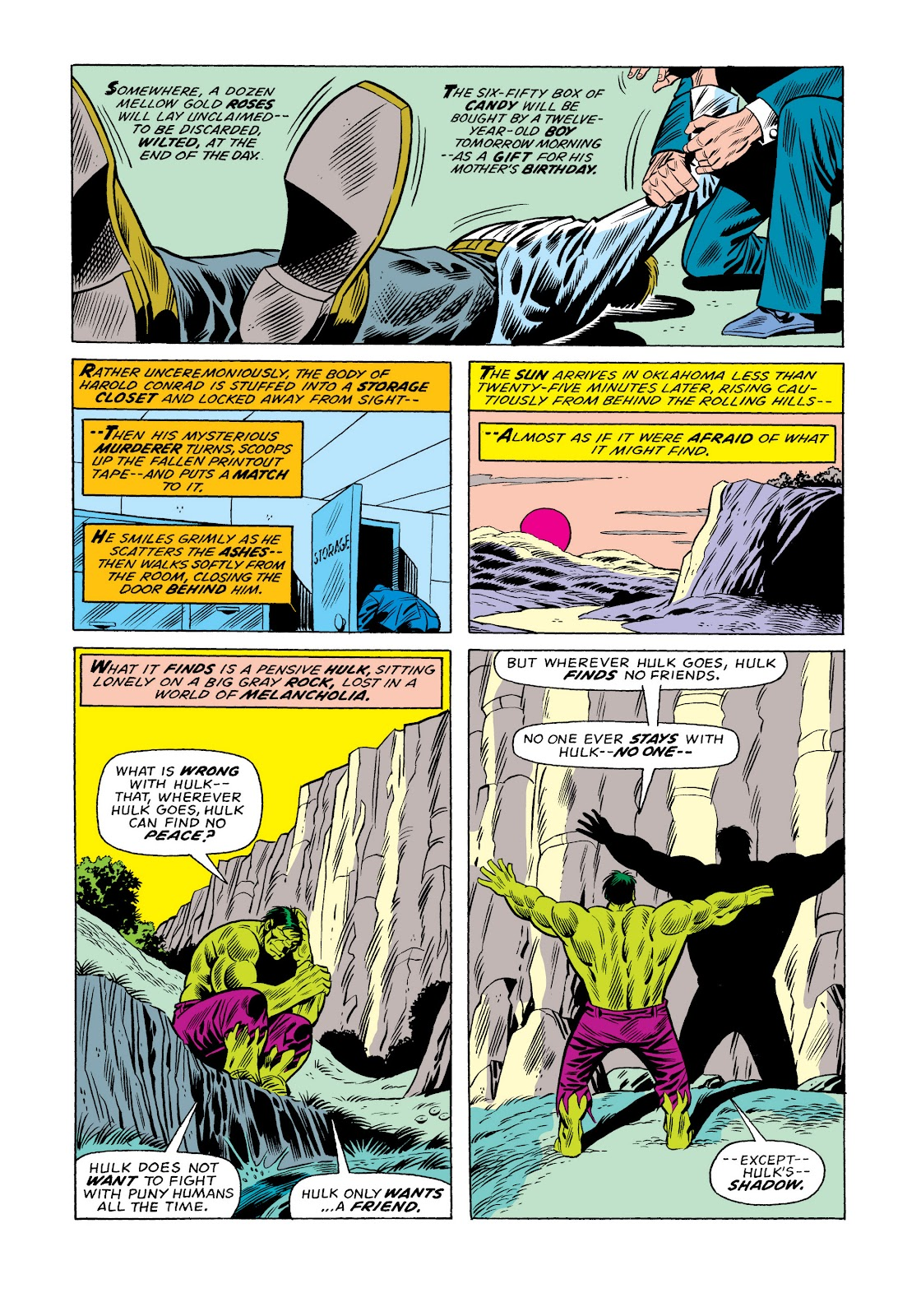 Read online Marvel Masterworks: The Incredible Hulk comic -  Issue # TPB 11 (Part 1) - 14