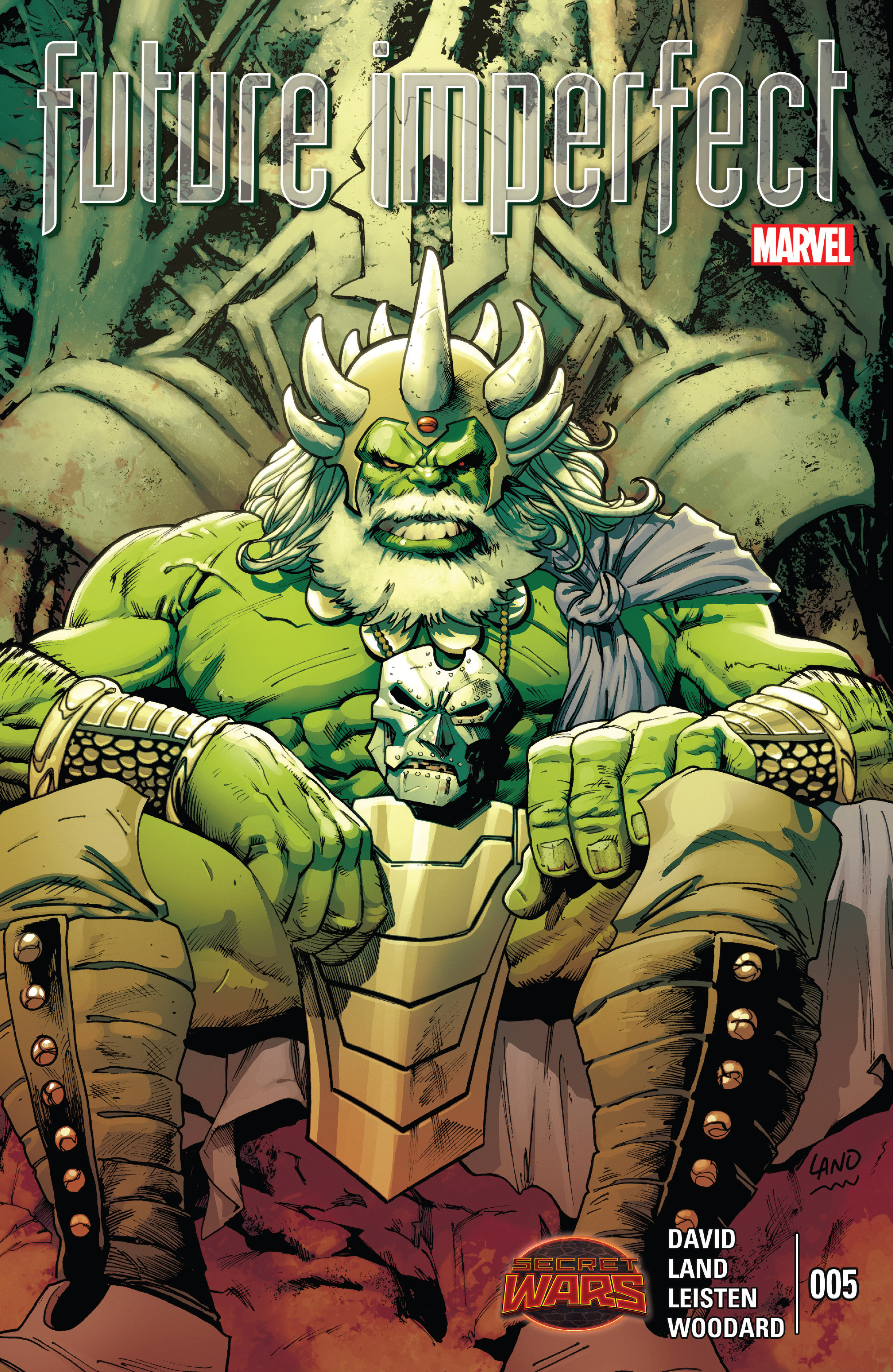 Read online Future Imperfect comic -  Issue #5 - 1