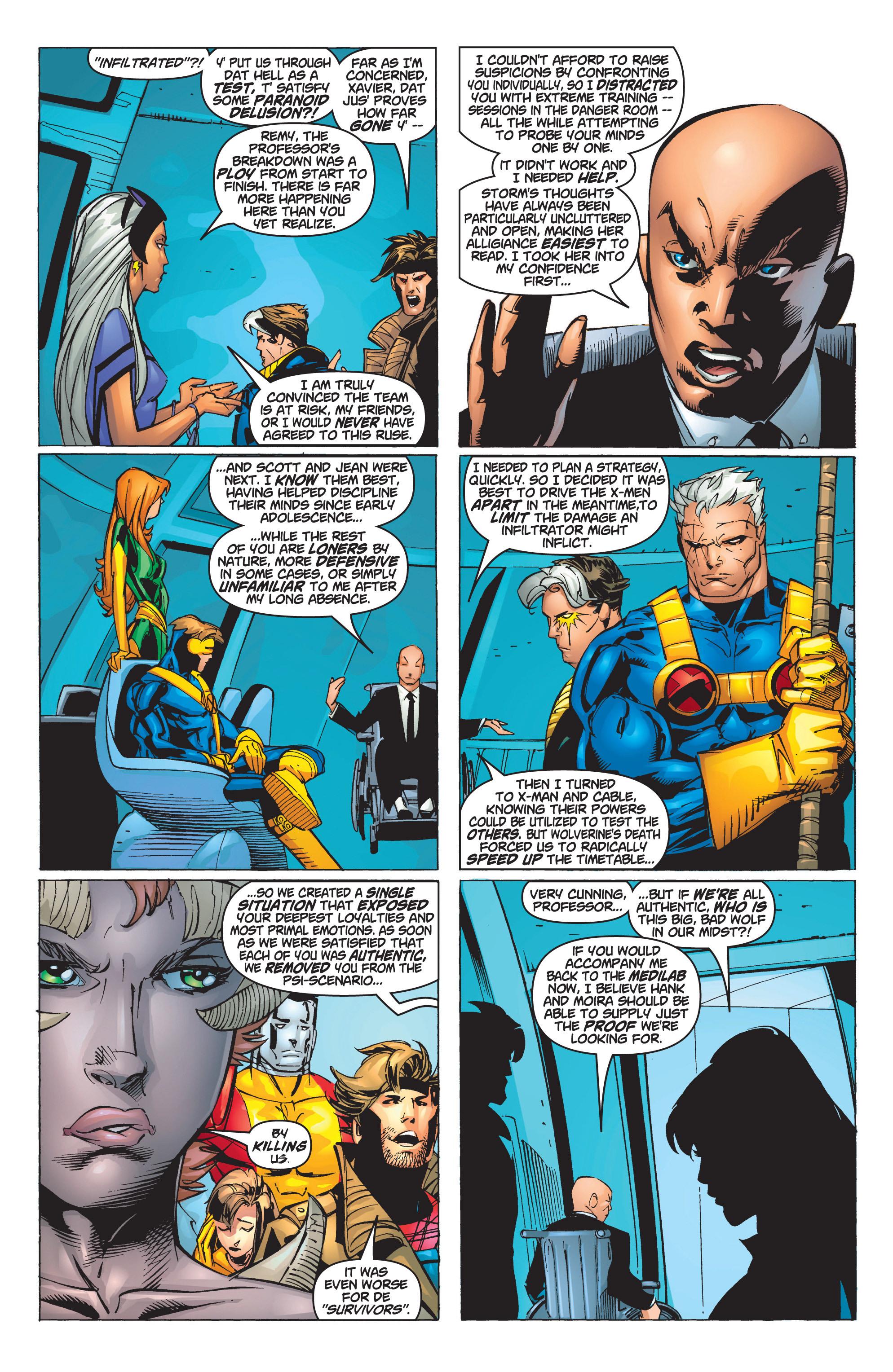 Read online Uncanny X-Men (1963) comic -  Issue #375 - 28