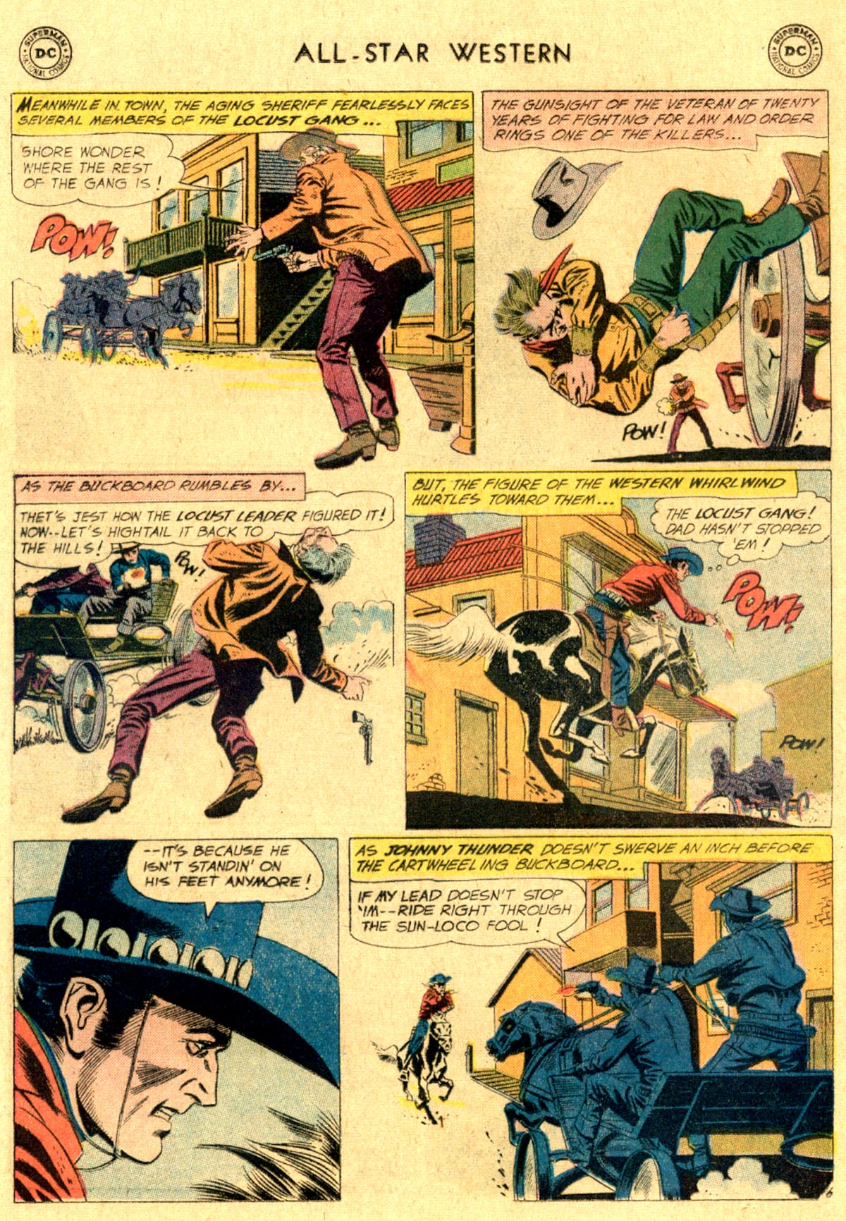 Read online All-Star Western (1951) comic -  Issue #112 - 8