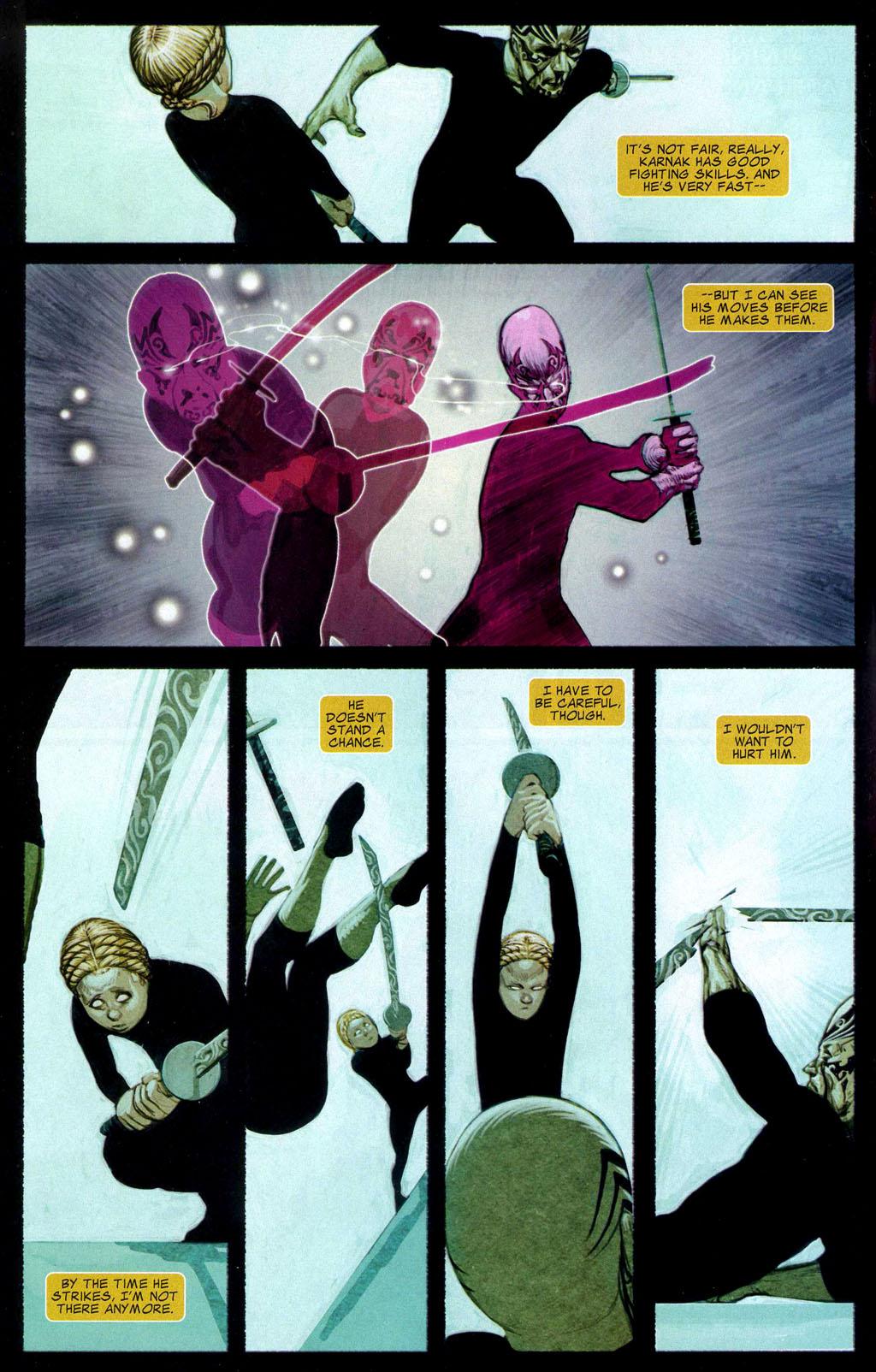 Read online Silent War comic -  Issue #2 - 5