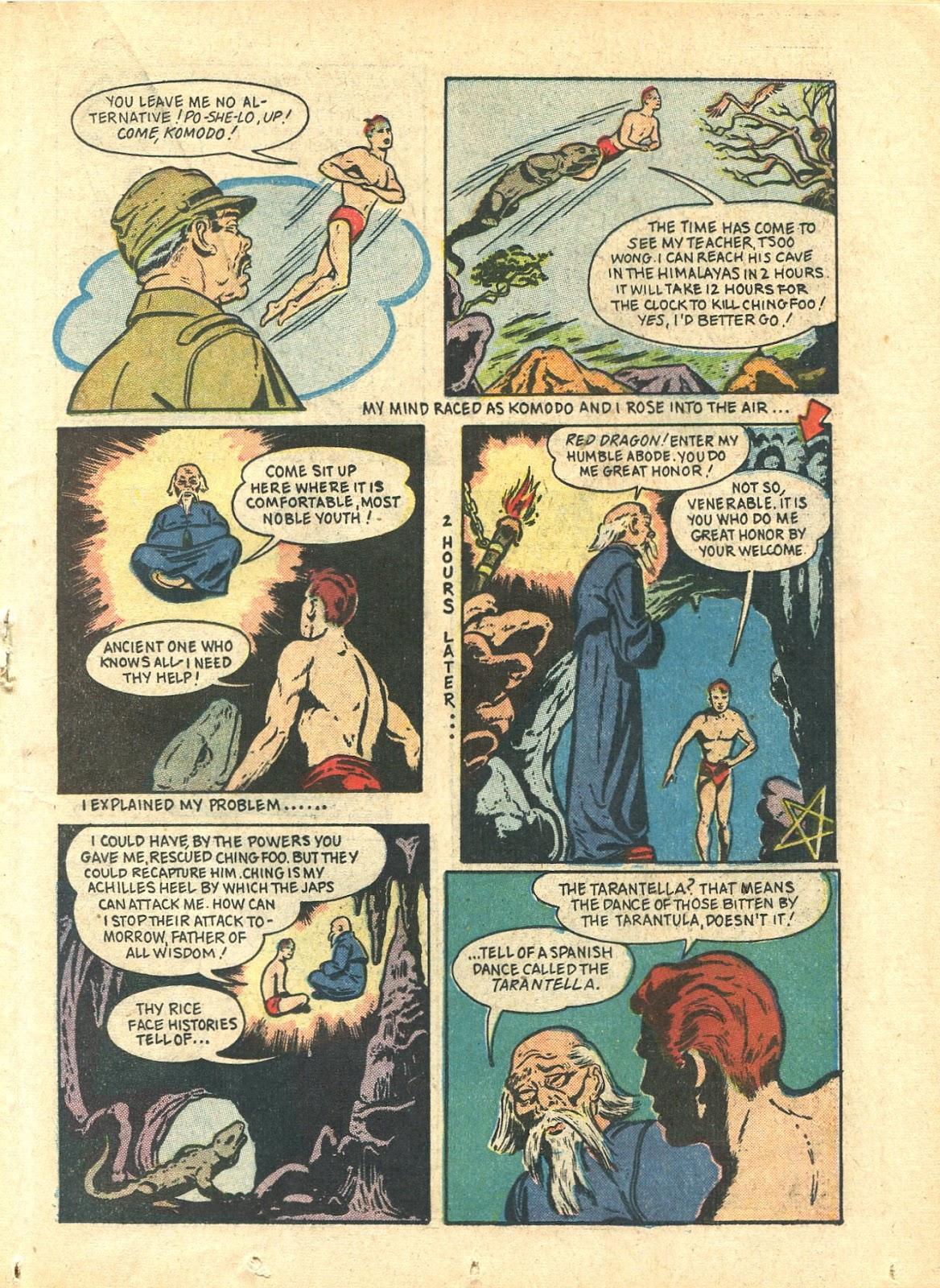 Read online Super-Magician Comics comic -  Issue #21 - 35