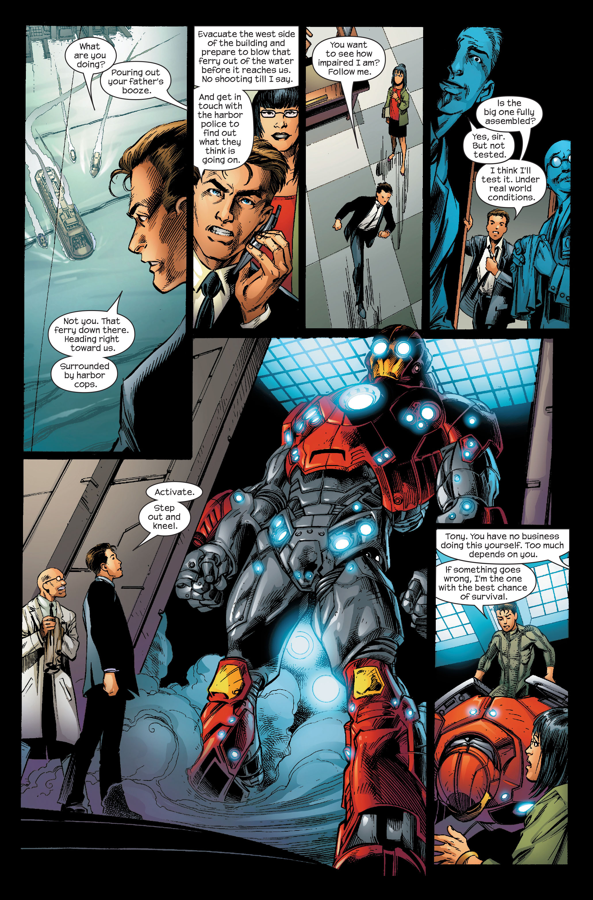 Read online Ultimate Iron Man (2005) comic -  Issue #5 - 17