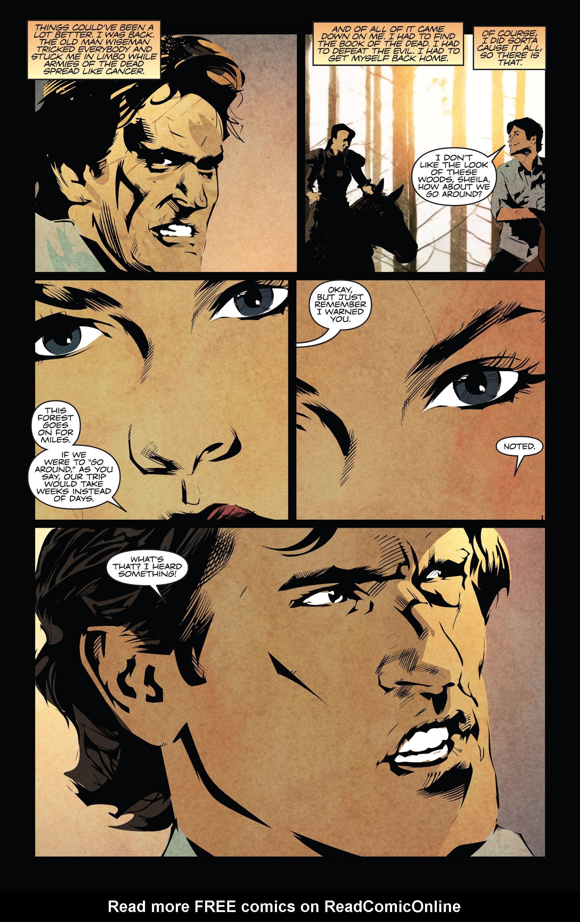 Read online Ash and the Army of Darkness comic -  Issue #4 - 7