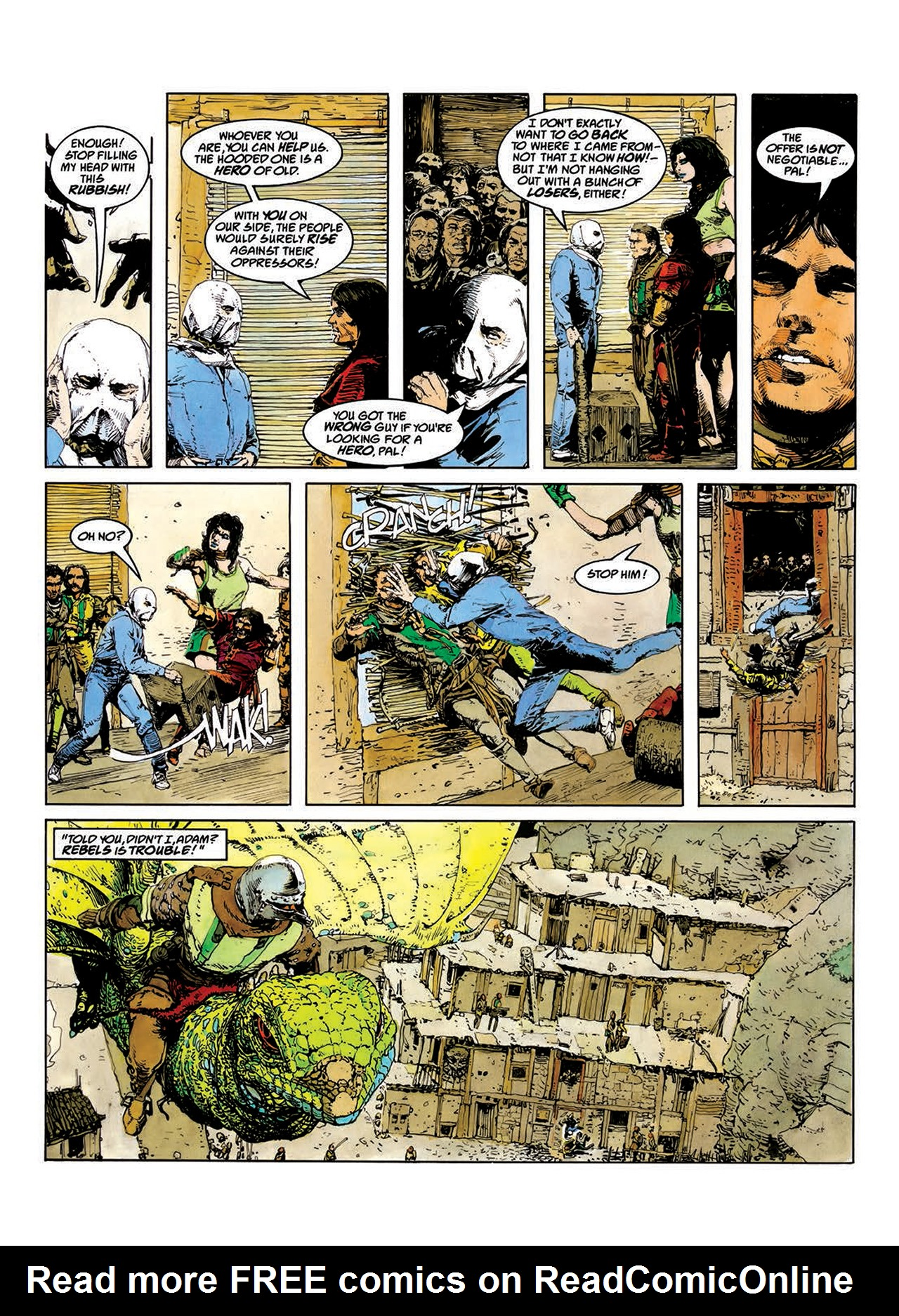 Read online Mazeworld comic -  Issue # TPB - 22