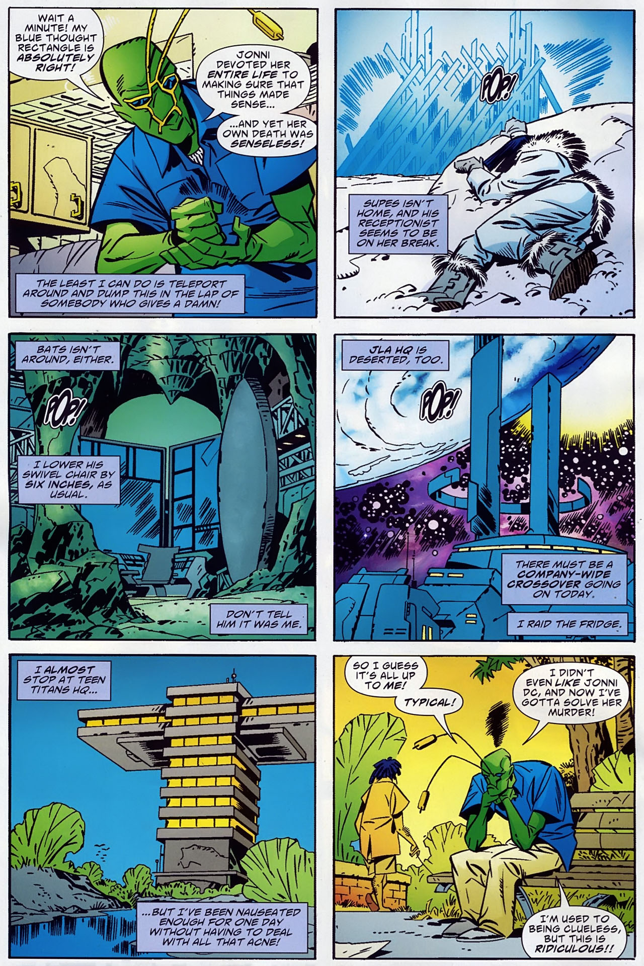 Read online Ambush Bug: Year None comic -  Issue #1 - 7