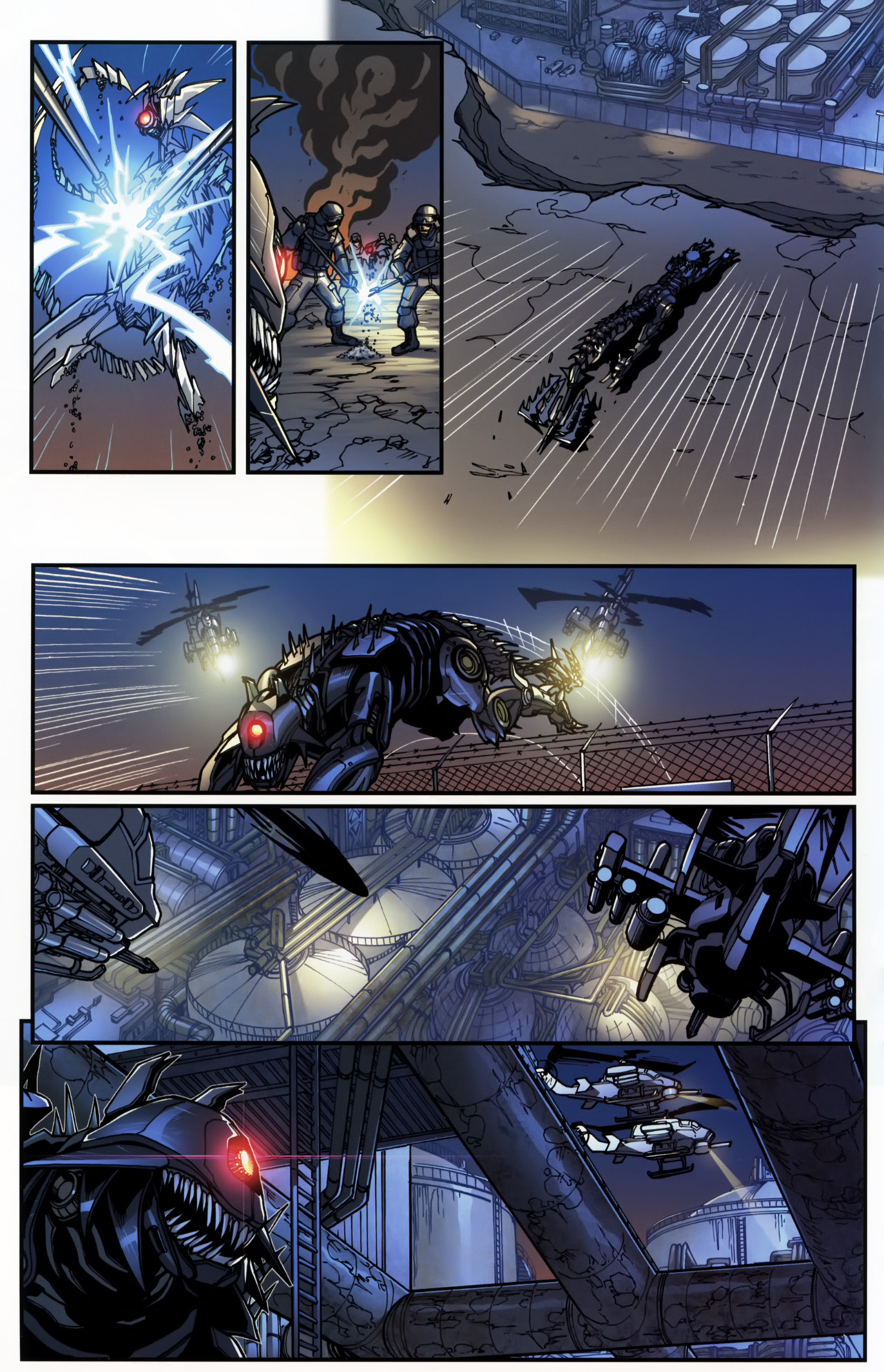 Read online Transformers: Tales of The Fallen comic -  Issue #5 - 18