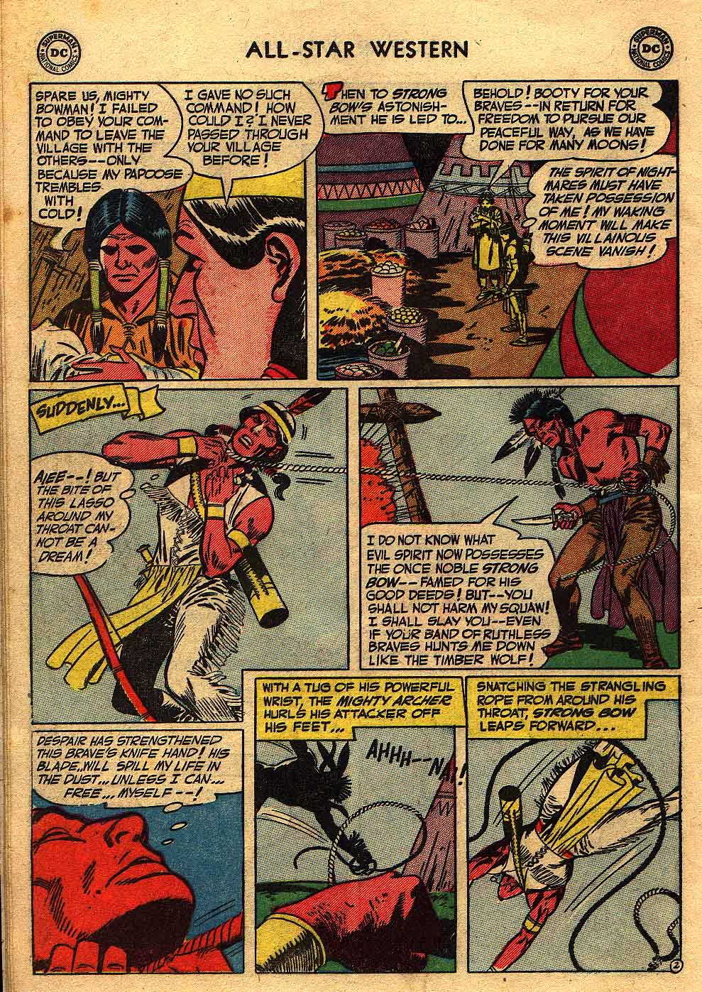 Read online All-Star Western (1951) comic -  Issue #70 - 12