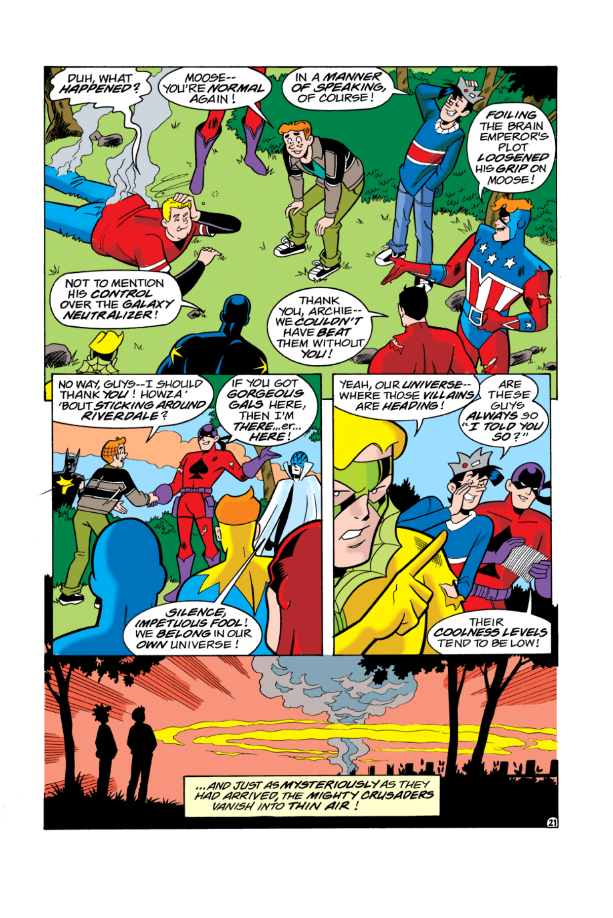 Read online Archie's Weird Mysteries comic -  Issue #3 - 22