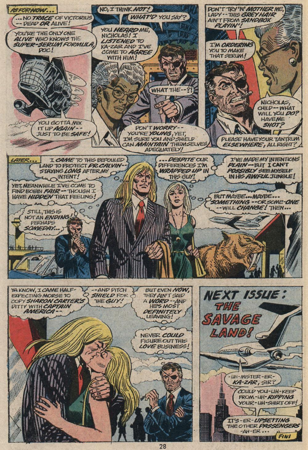 Read online Astonishing Tales (1970) comic -  Issue #20 - 20