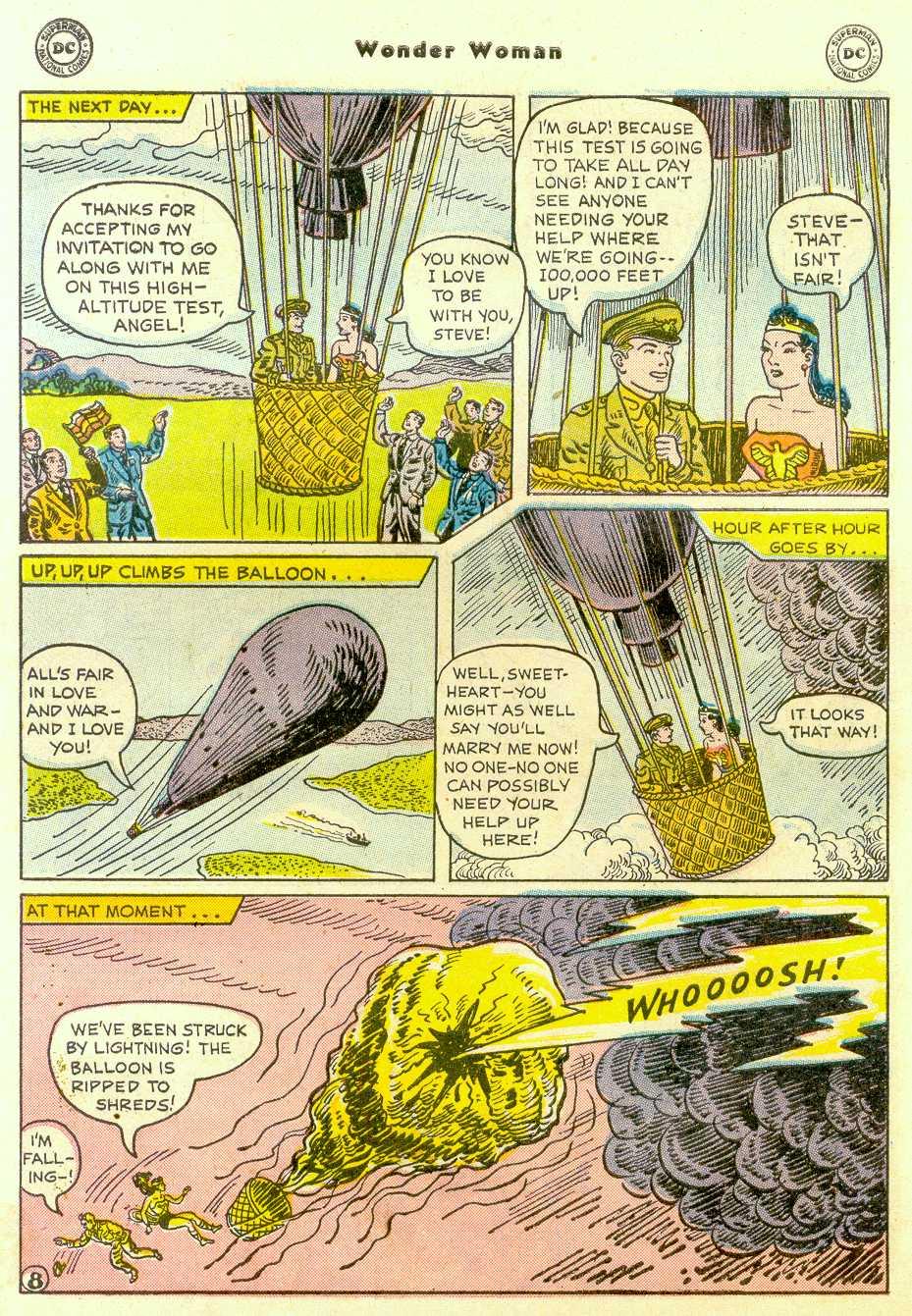 Read online Wonder Woman (1942) comic -  Issue #96 - 11
