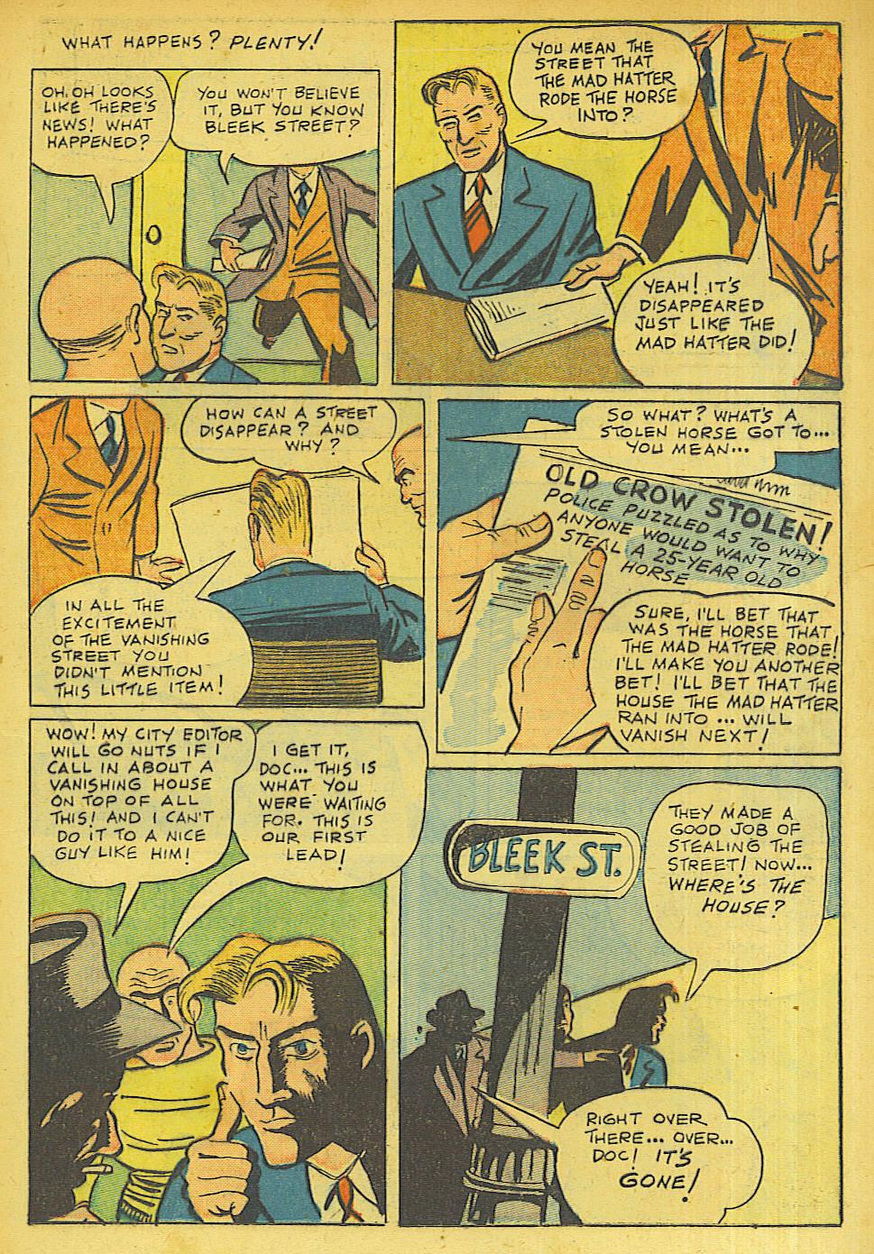Read online Shadow Comics comic -  Issue #63 - 23