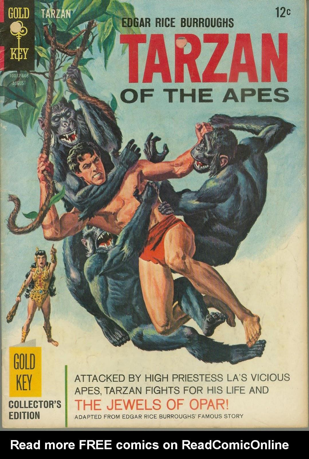 Tarzan (1962) issue 159 - Page 1