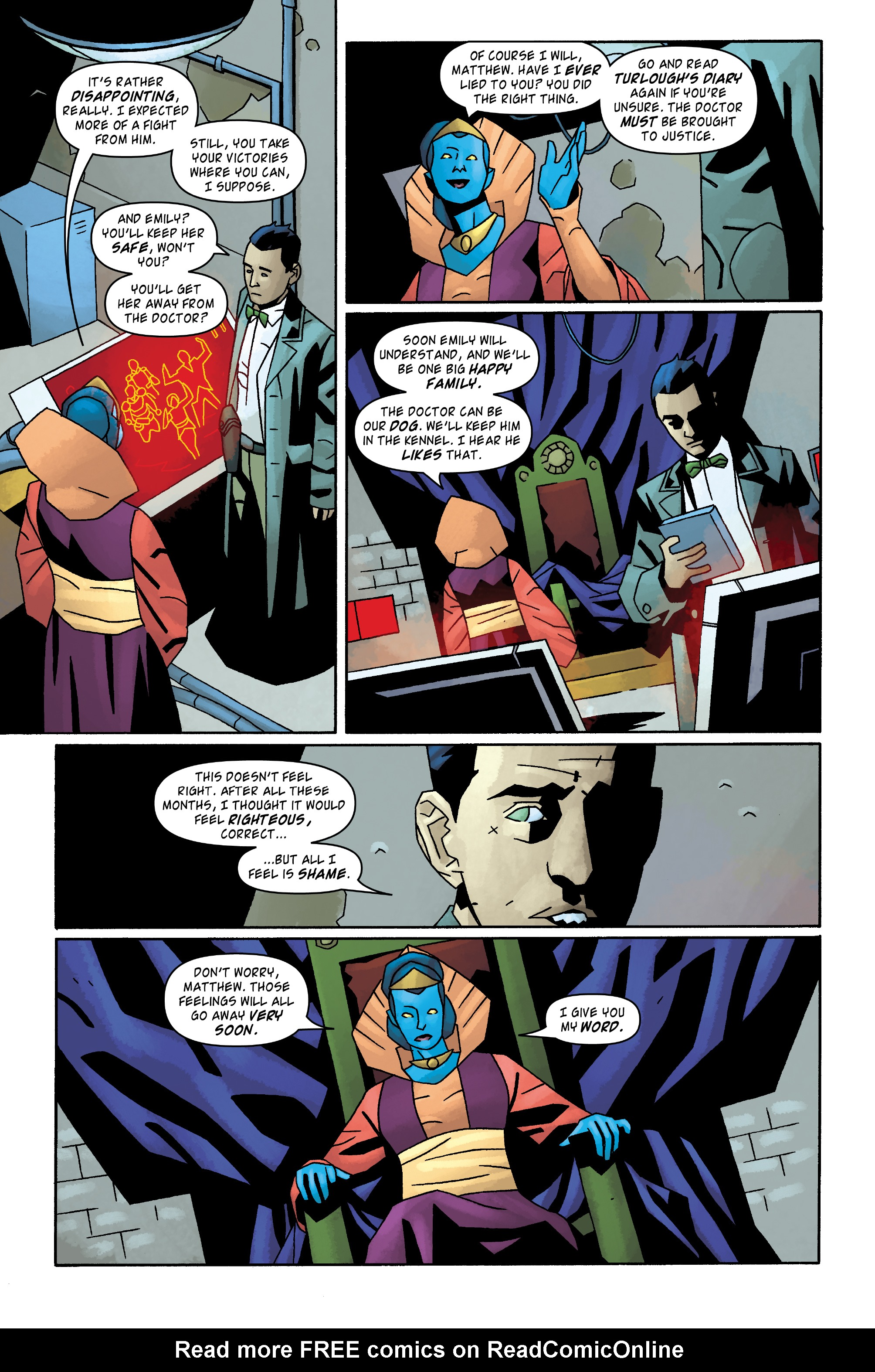 Read online Doctor Who: The Tenth Doctor Archives comic -  Issue #31 - 22